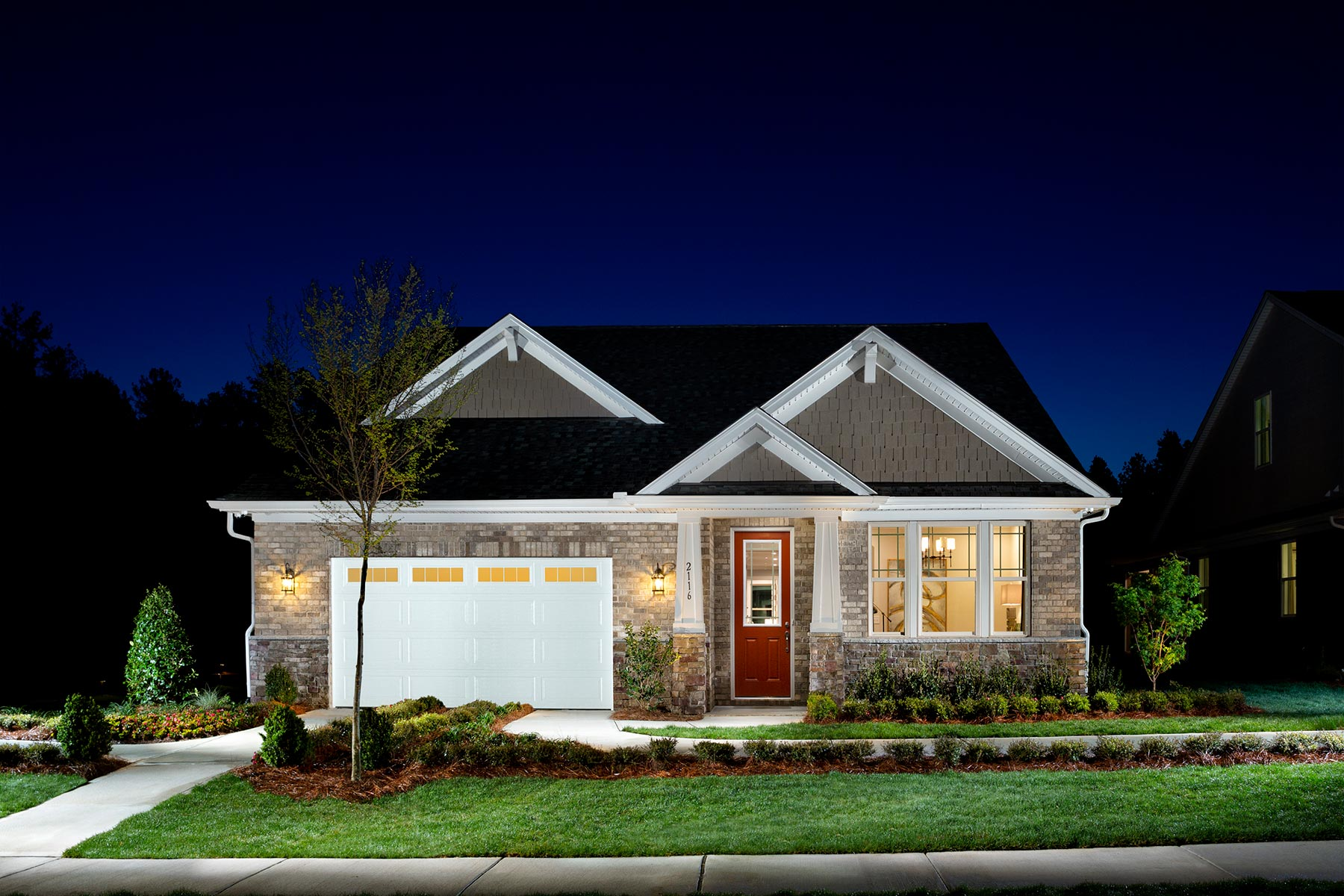 Sonata at Mint Hill Elevation Front in Mint Hill North Carolina by Mattamy Homes