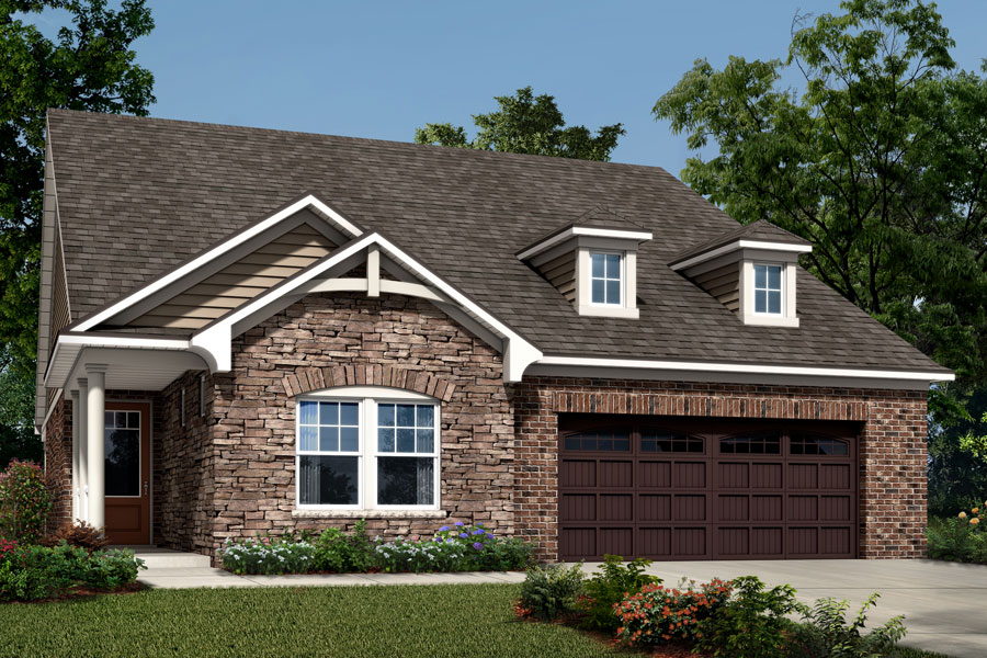 Armstrong Plan Elevation Front at Sonata at Mint Hill in Mint Hill North Carolina by Mattamy Homes