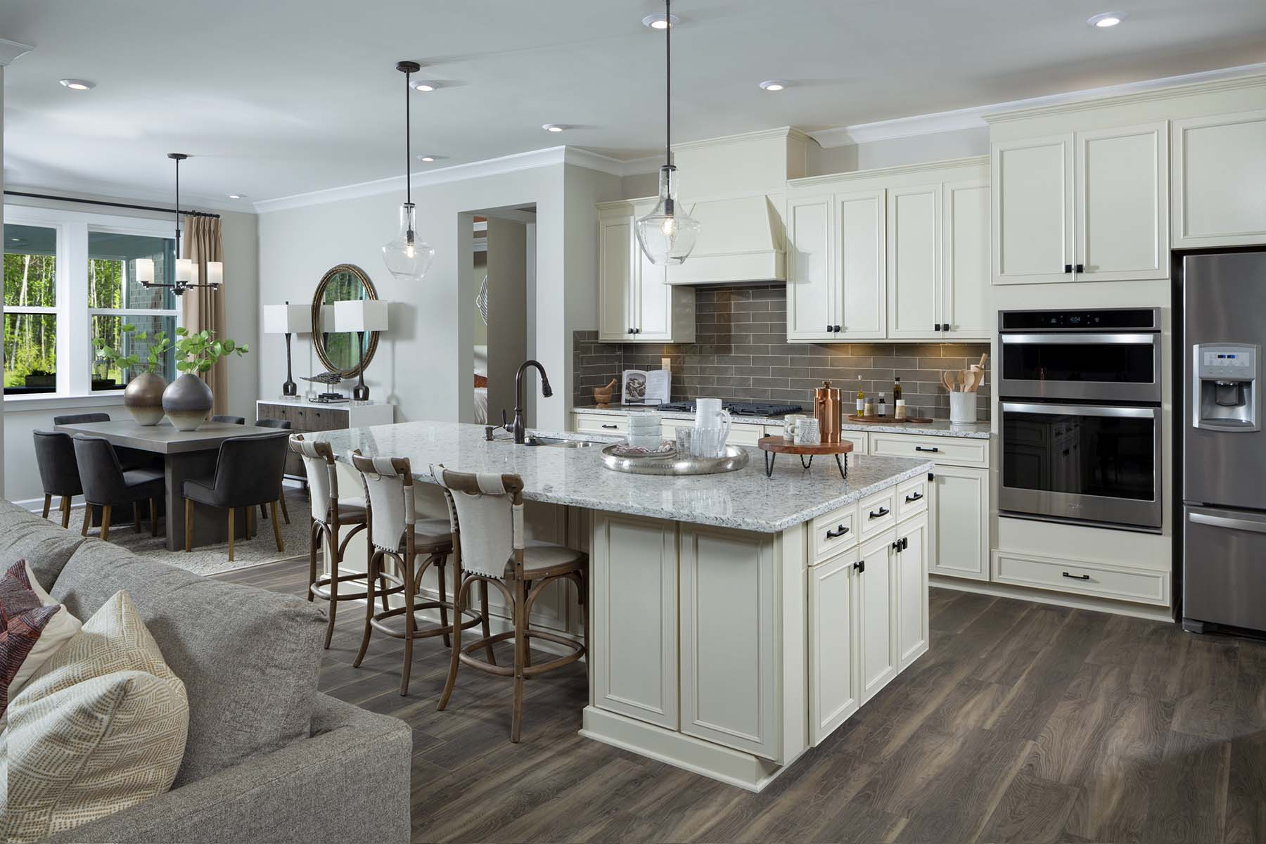 Armstrong Plan Kitchen at Sonata at Mint Hill in Mint Hill North Carolina by Mattamy Homes