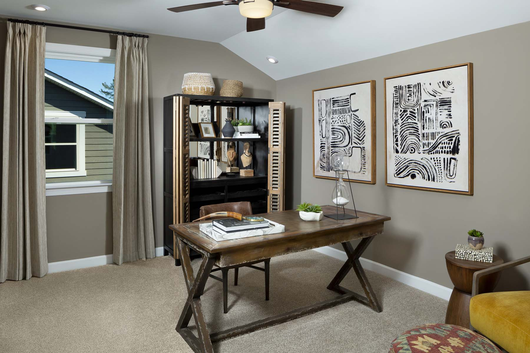 Armstrong Plan Bedroom at Sonata at Mint Hill in Mint Hill North Carolina by Mattamy Homes