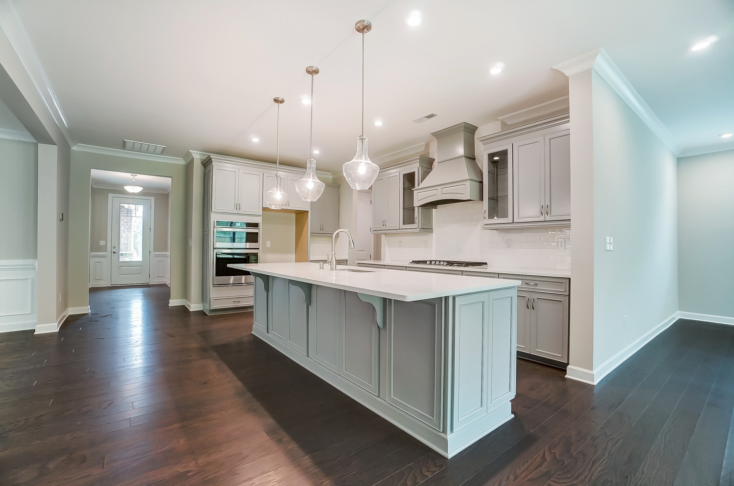 Astaire Plan Kitchen at Sonata at Mint Hill in Mint Hill North Carolina by Mattamy Homes
