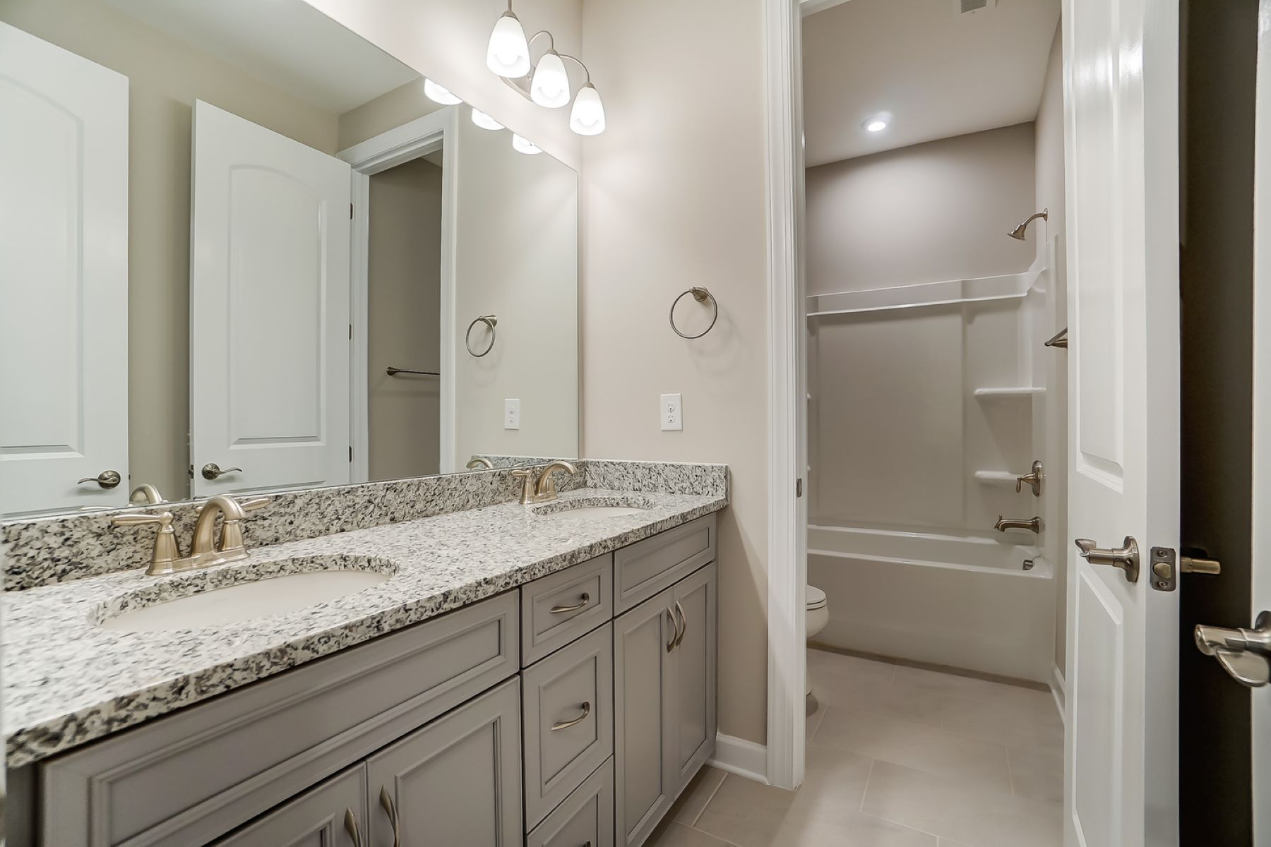 Astaire Plan Bath at Sonata at Mint Hill in Mint Hill North Carolina by Mattamy Homes