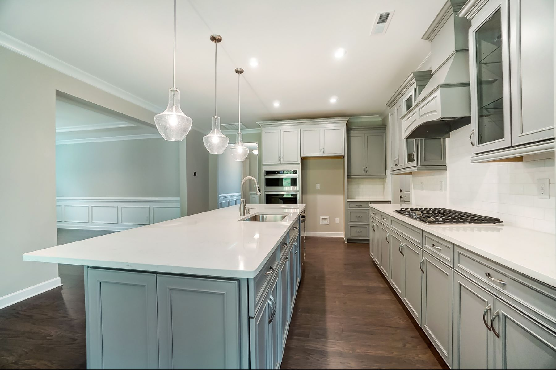 Sonata at Mint Hill Kitchen in Mint Hill North Carolina by Mattamy Homes