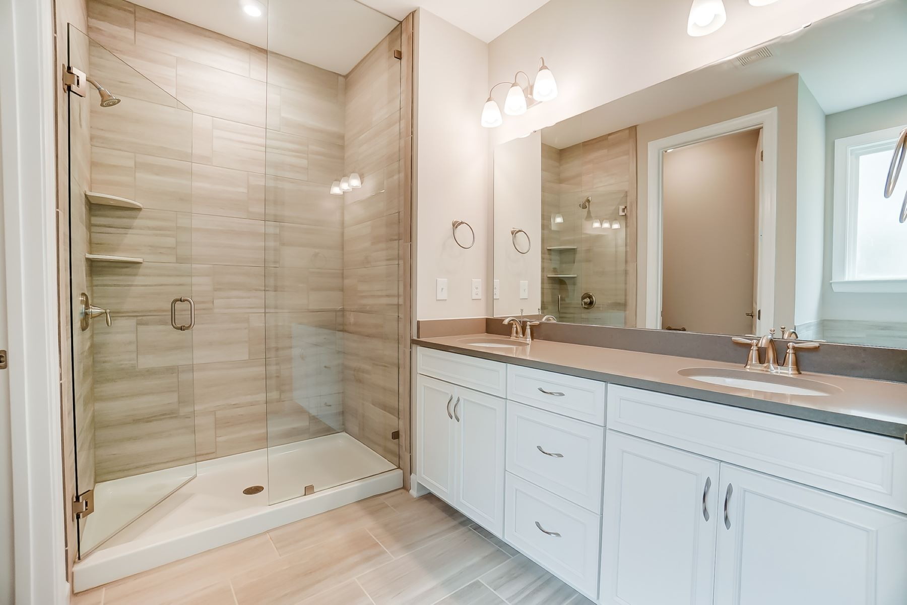 Astaire Plan Bathroom_Master Bath at Sonata at Mint Hill in Mint Hill North Carolina by Mattamy Homes