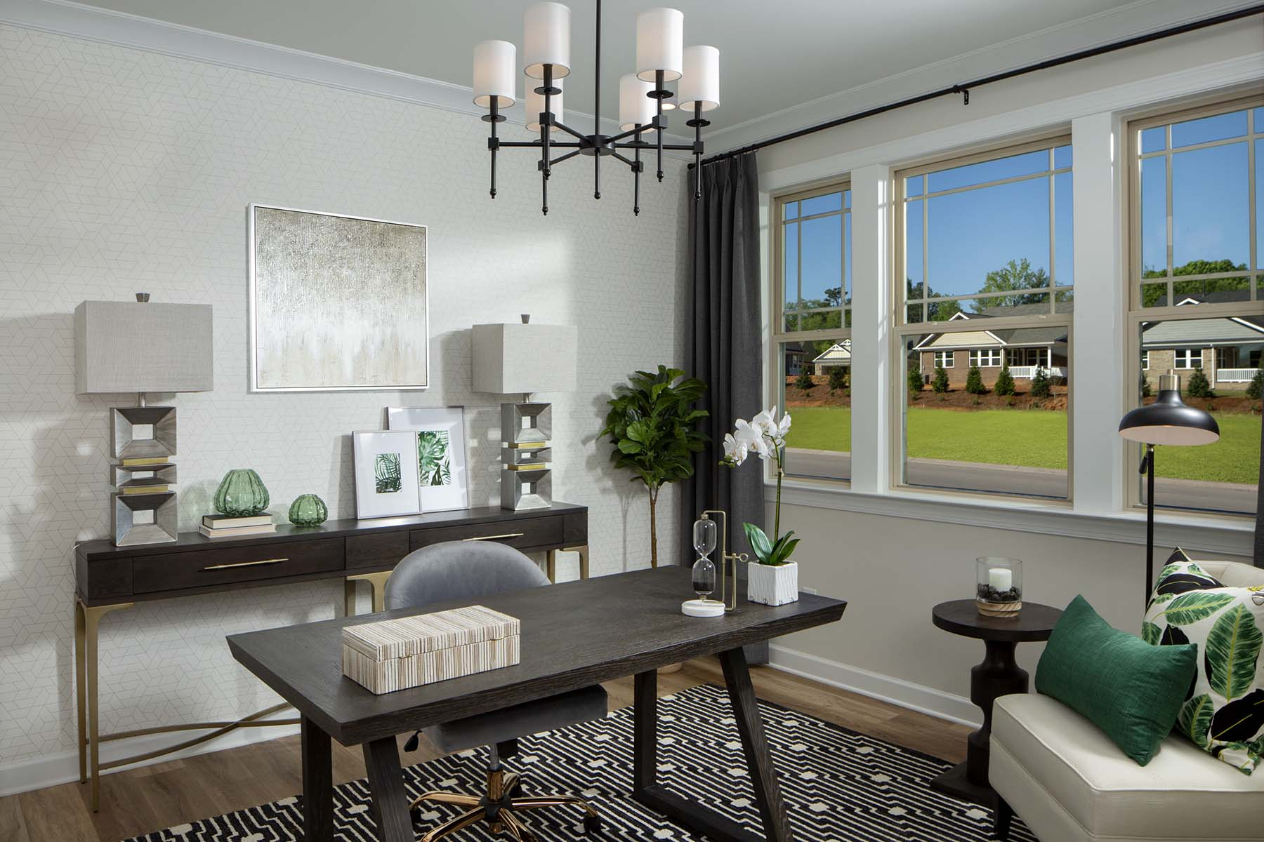 Presley Plan Study Room at Sonata at Mint Hill in Mint Hill North Carolina by Mattamy Homes
