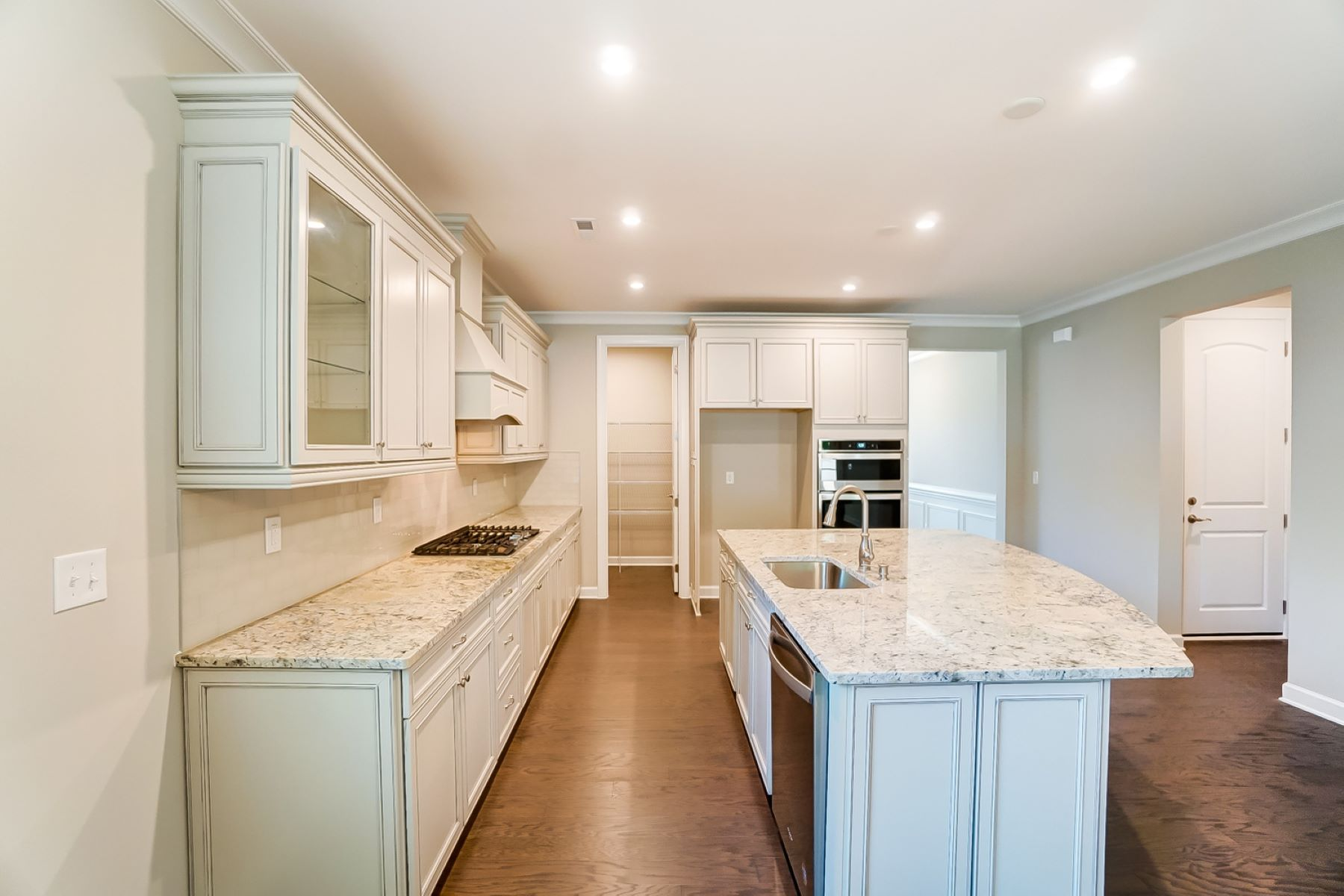 Presley Plan Kitchen at Sonata at Mint Hill in Mint Hill North Carolina by Mattamy Homes