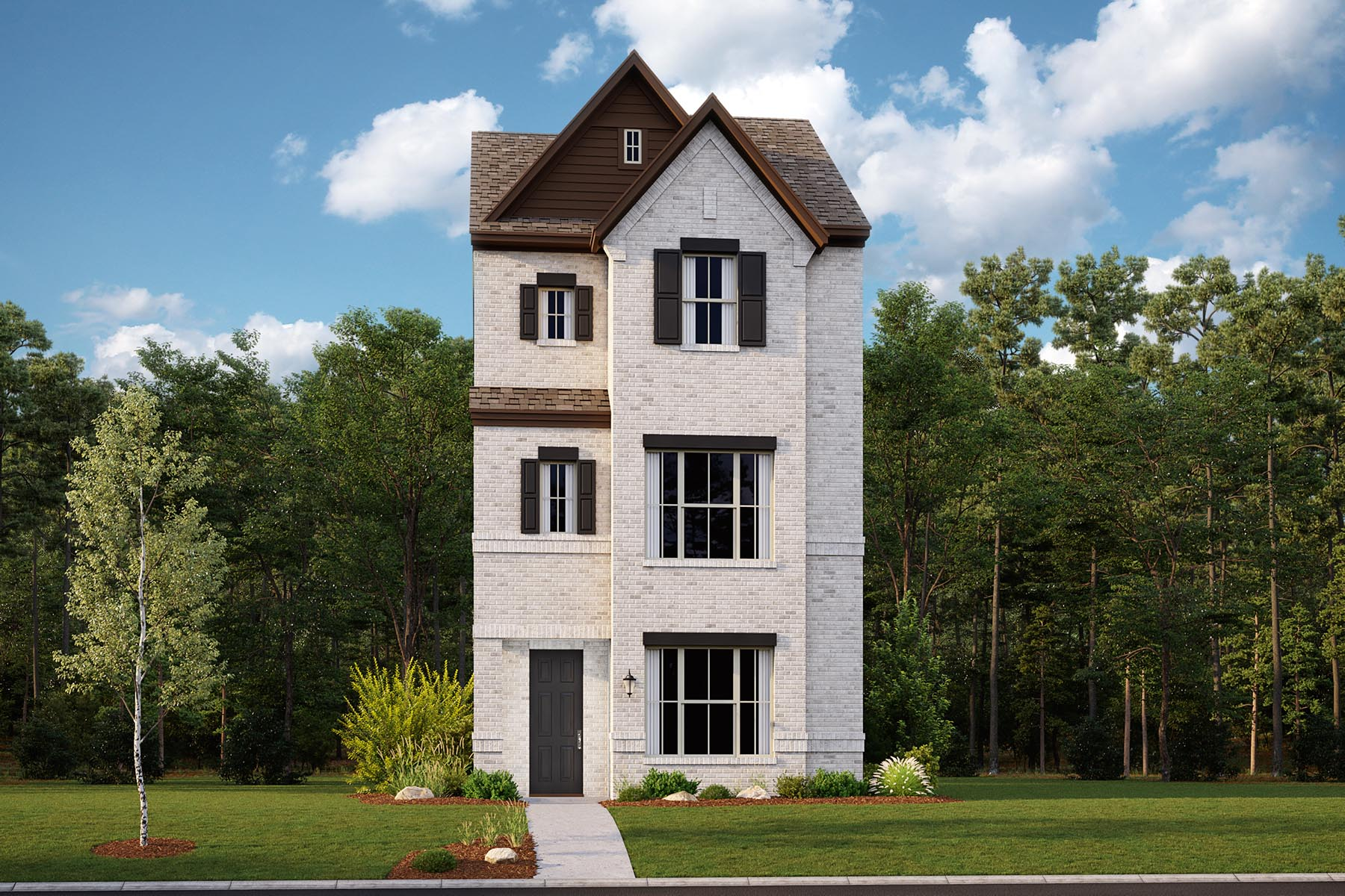 Albany Plan DAL_Albany_ElevationB_1800x1200 at Iron Horse Village in Mesquite Texas by Mattamy Homes