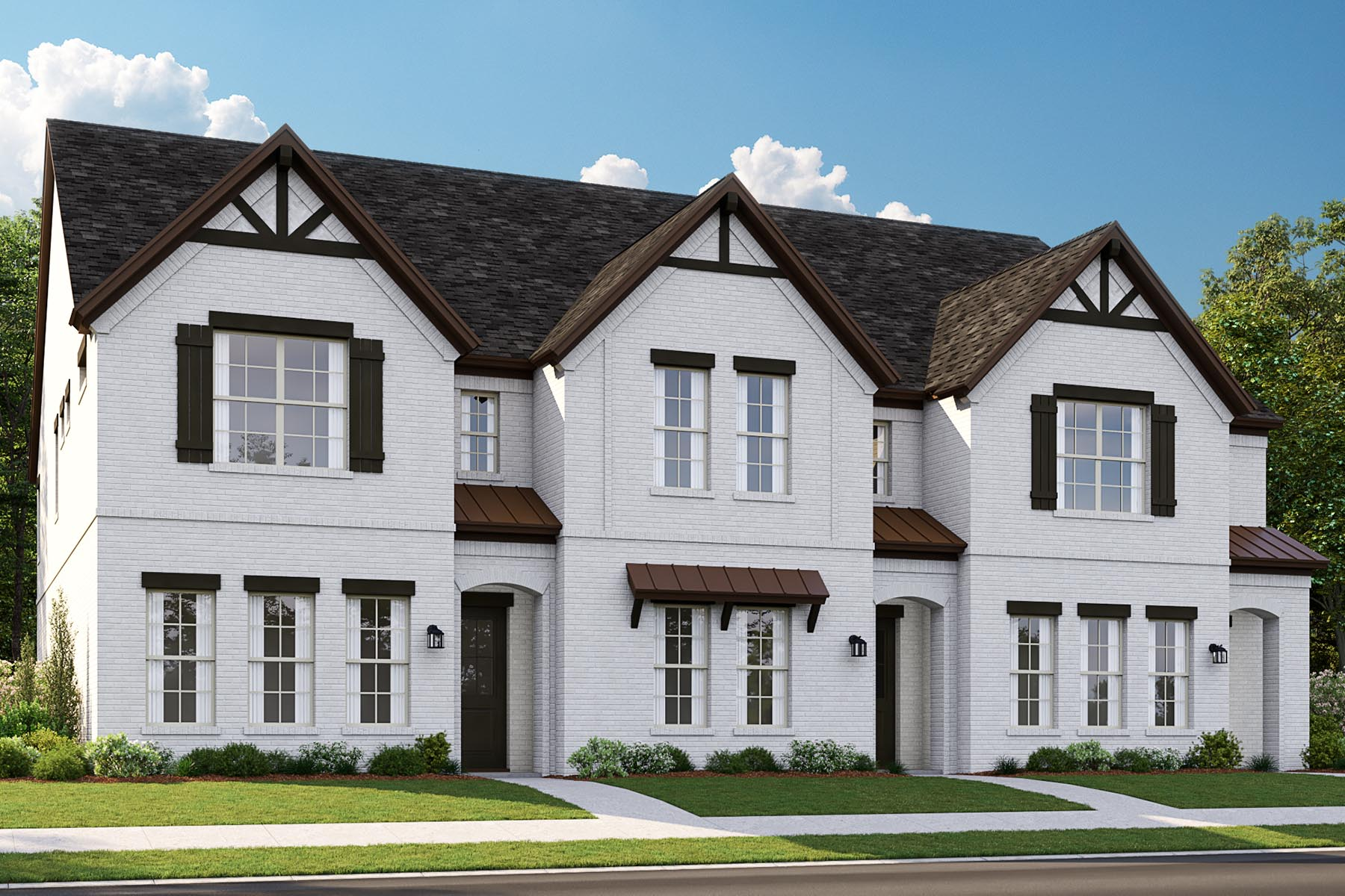 Hacienda Plan TownHomes at Kensington Place in Farmers Branch Texas by Mattamy Homes