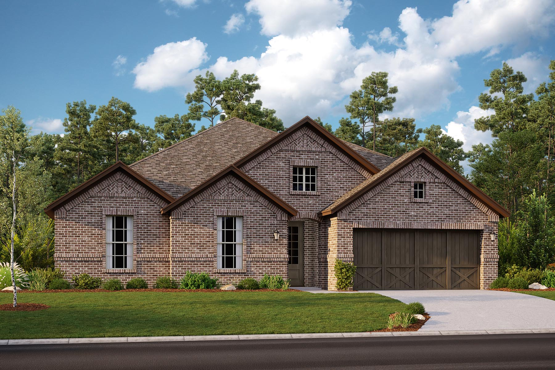 Rockport II Plan DAL_Rockport_B_ElevationExt_1800x1200 at Villages of Hurricane Creek in Anna Texas by Mattamy Homes