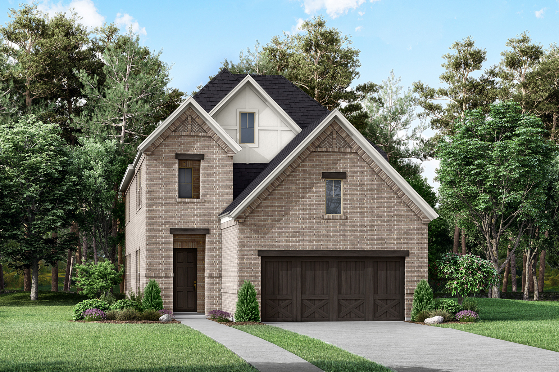 Murray Plan dal_prairie-commons_murray_b-elevation at Prairie Commons in Plano Texas by Mattamy Homes