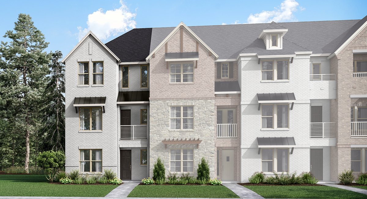 Belgrove Plan dfw_wadesettlement_belgrove_transitional at Windhaven Crossing in Lewisville Texas by Mattamy Homes