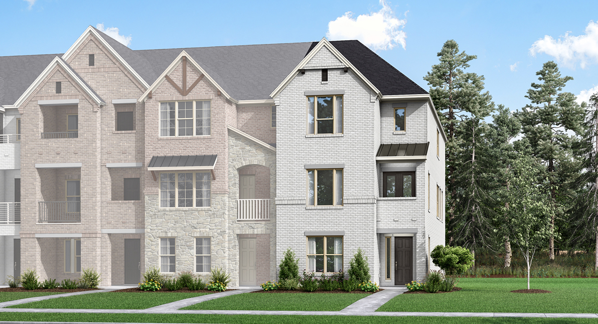 Jamestown Plan dfw_wadesettlement_jamestown_traditional at Windhaven Crossing in Lewisville Texas by Mattamy Homes