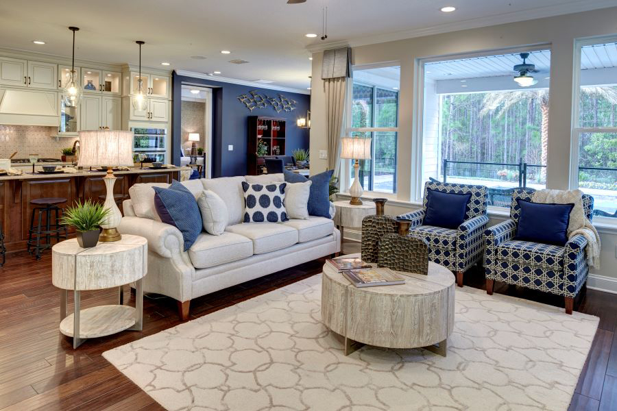 RiverTown - Arbors Greatroom in St. Johns Florida by Mattamy Homes