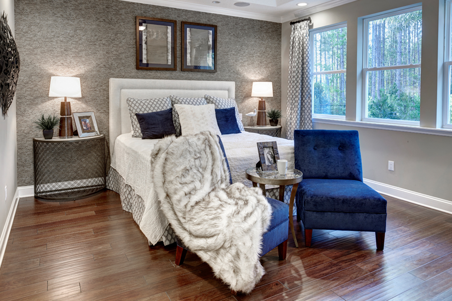 RiverTown - Arbors Bedroom in St. Johns Florida by Mattamy Homes