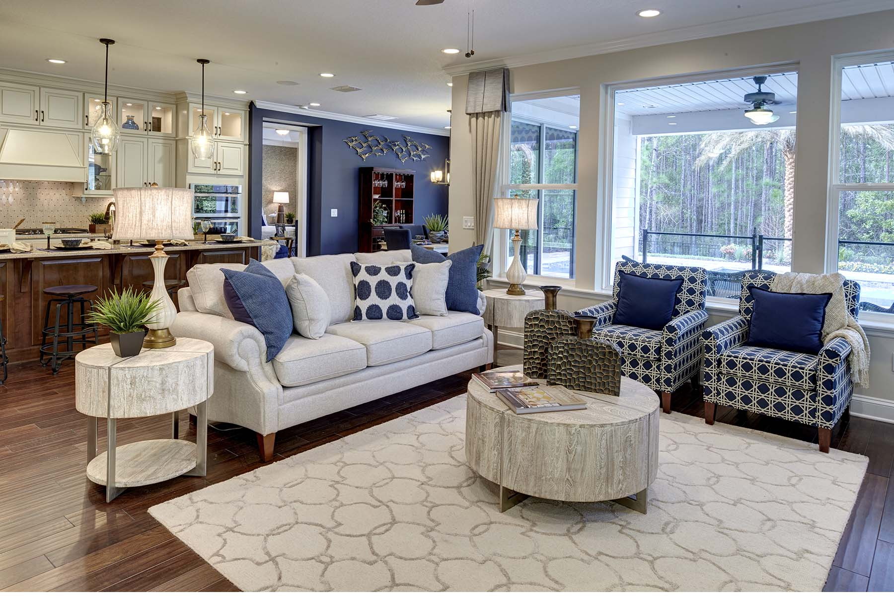 Beauclair Plan Greatroom at RiverTown - Arbors in St. Johns Florida by Mattamy Homes