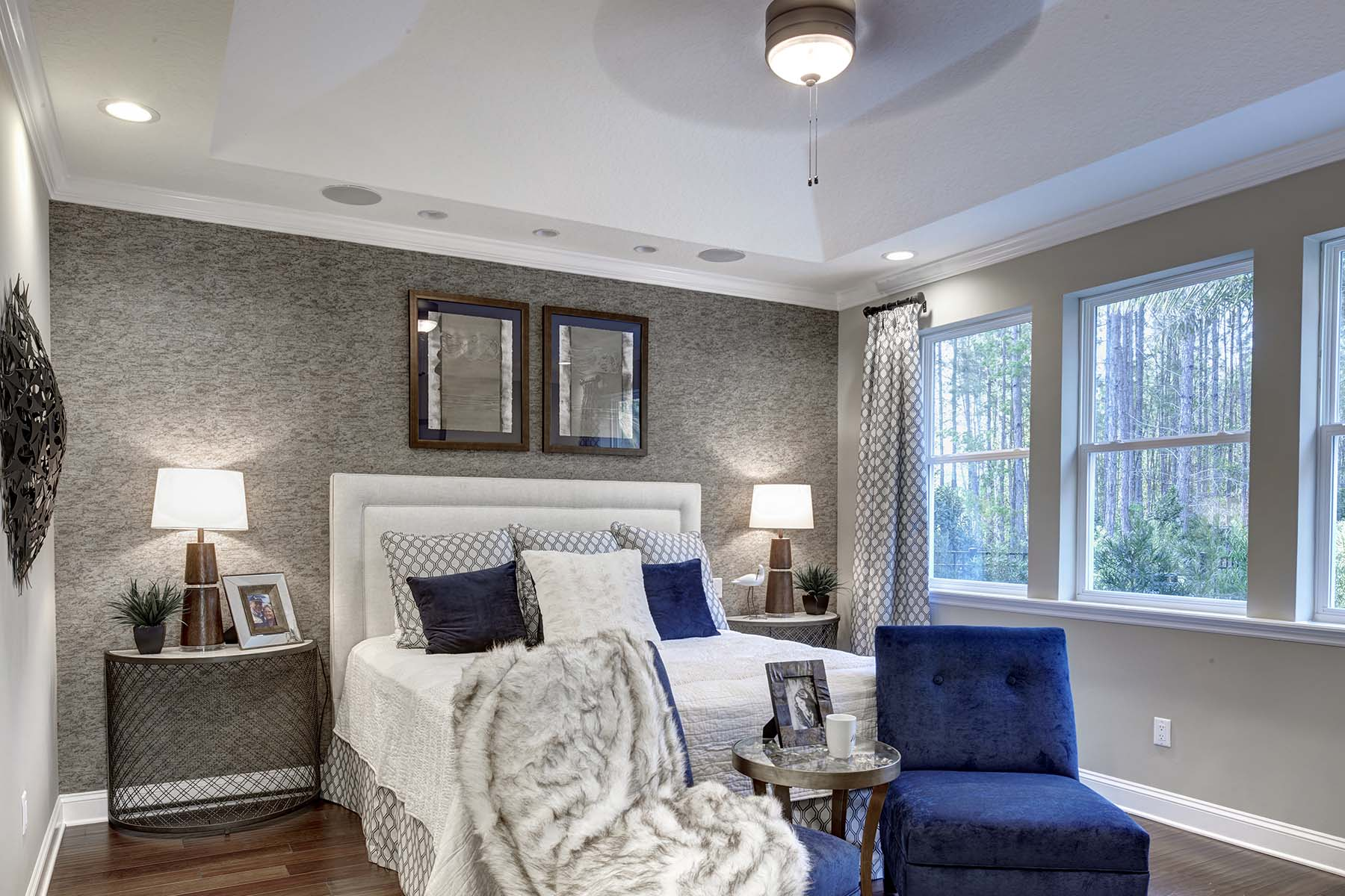 Beauclair Plan Bedroom at RiverTown - Arbors in St. Johns Florida by Mattamy Homes
