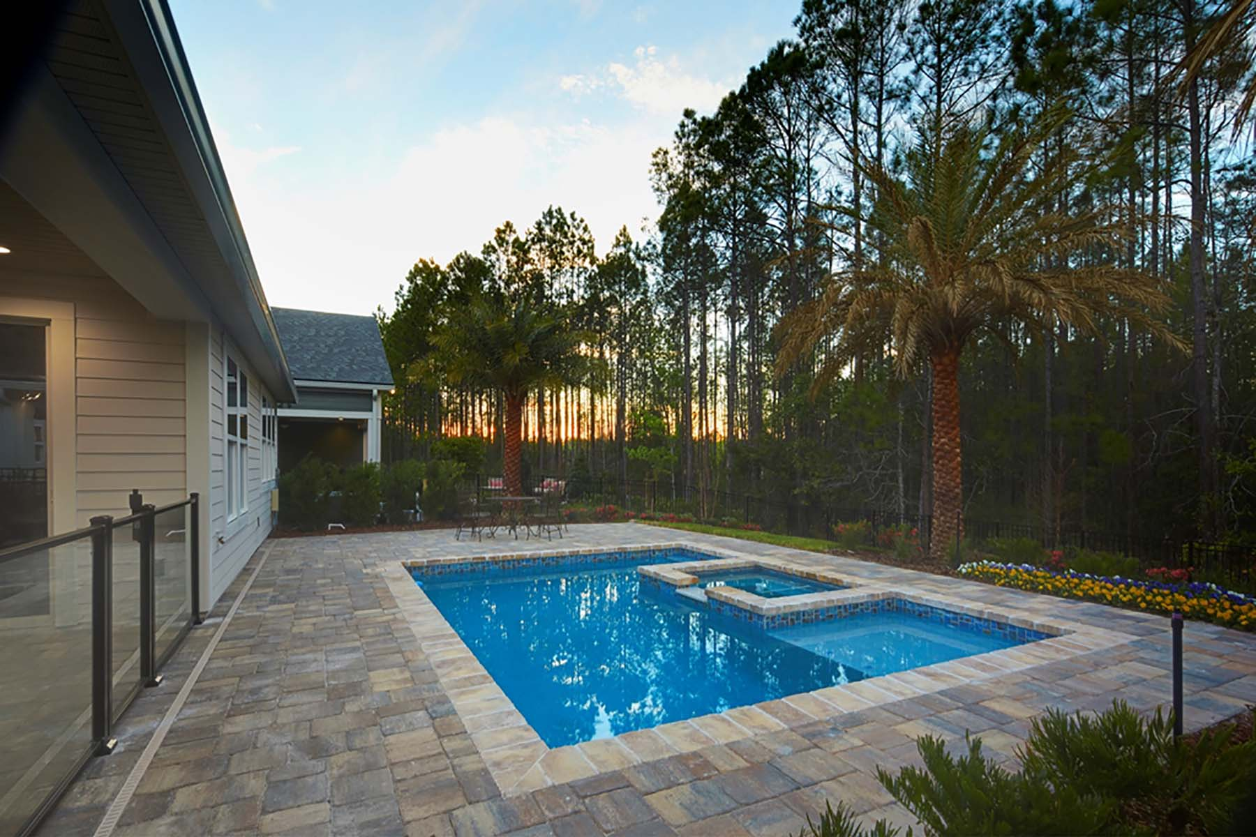 Beauclair Plan WaterFeatures at RiverTown - Arbors in St. Johns Florida by Mattamy Homes