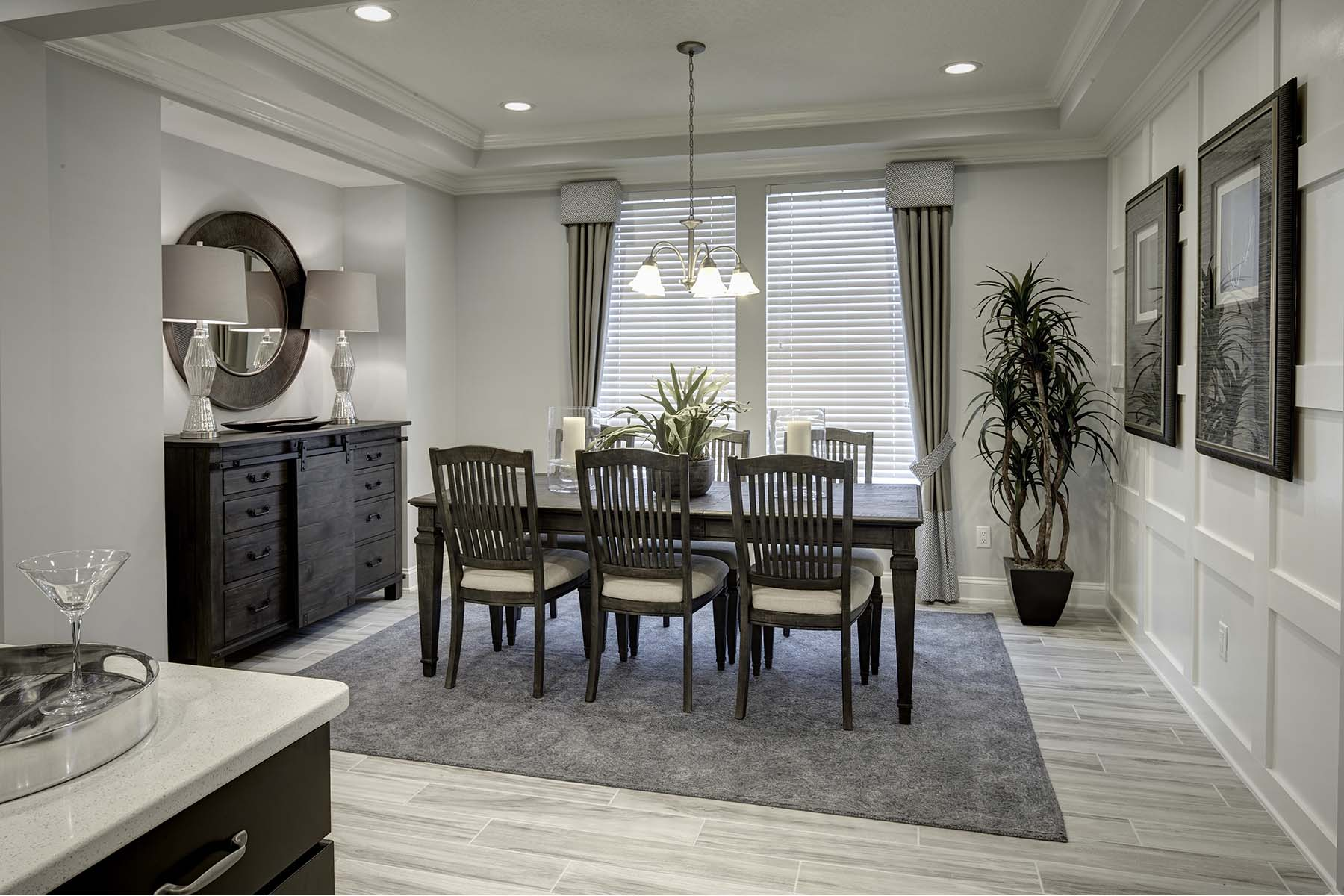 Egret Plan Dining at RiverTown - Arbors in St. Johns Florida by Mattamy Homes