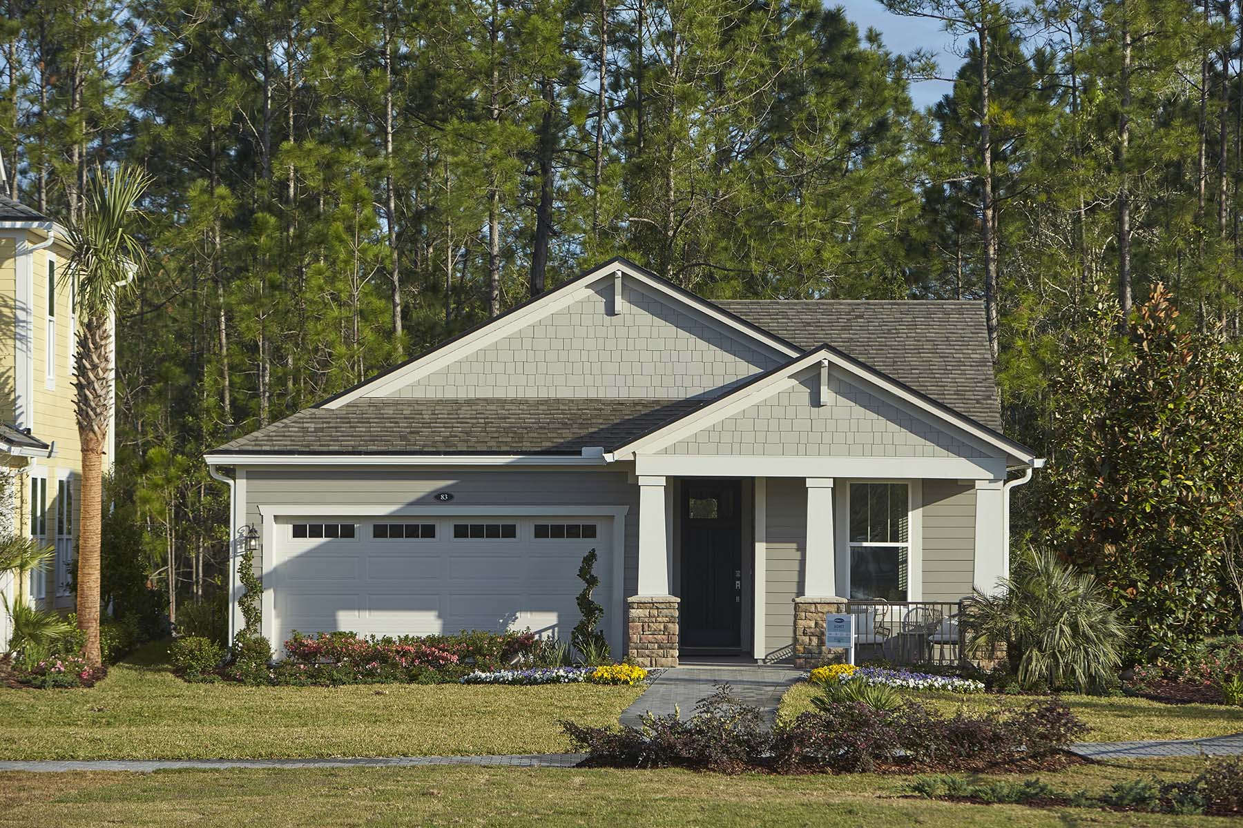 Egret Plan Elevation Front at RiverTown - Arbors in St. Johns Florida by Mattamy Homes