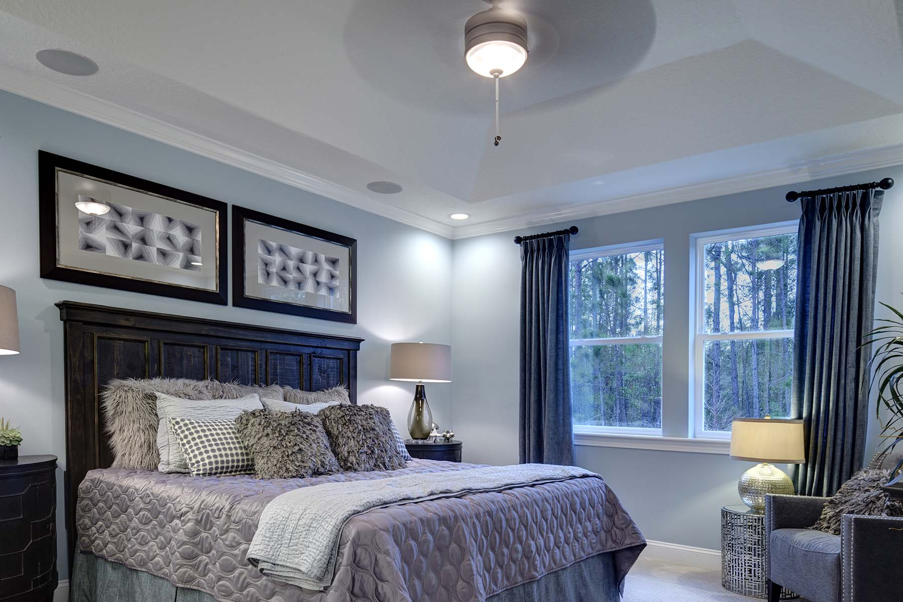 Egret Plan Bedroom at RiverTown - Arbors in St. Johns Florida by Mattamy Homes
