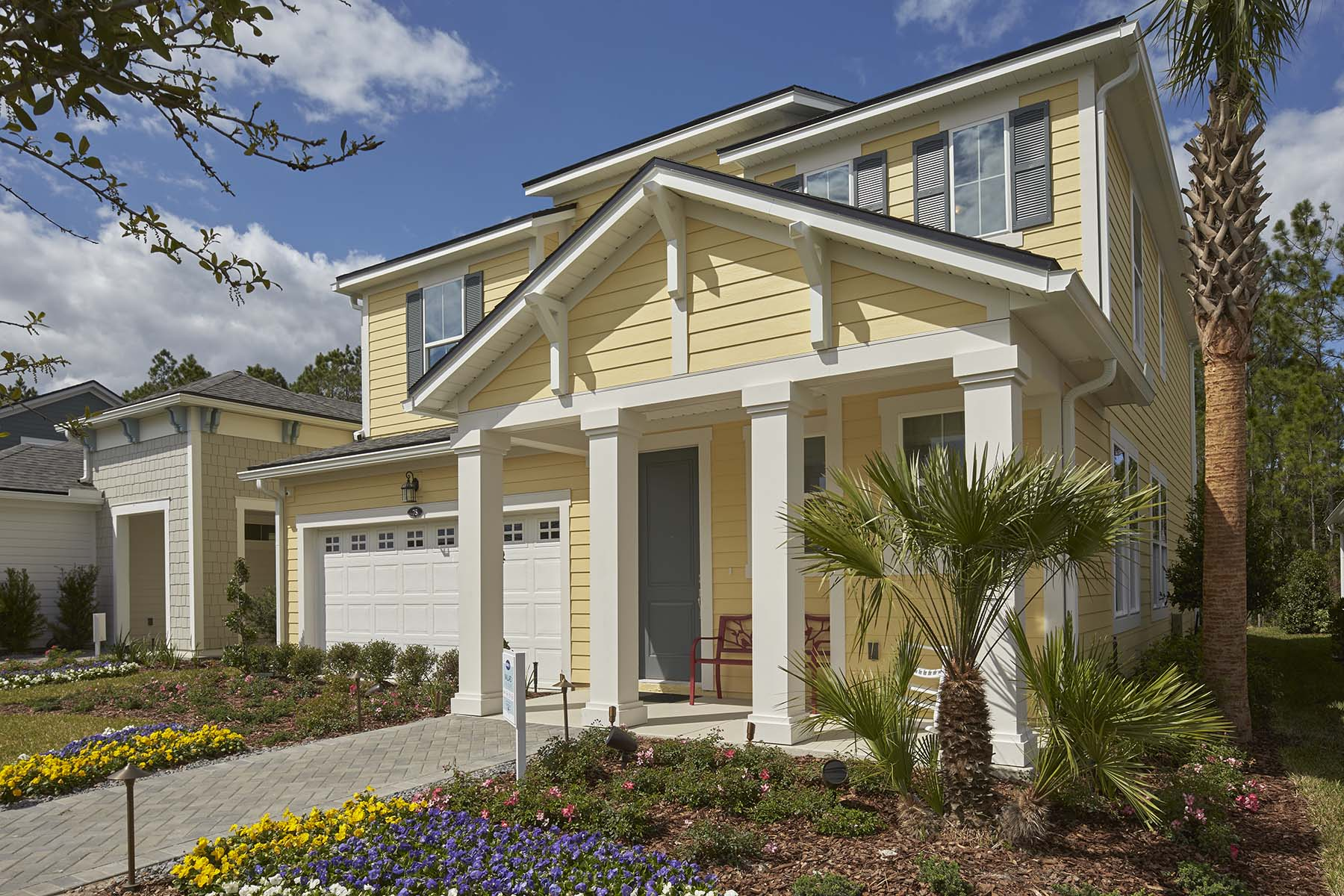 Mallard Plan Elevation Front at RiverTown - Arbors in St. Johns Florida by Mattamy Homes