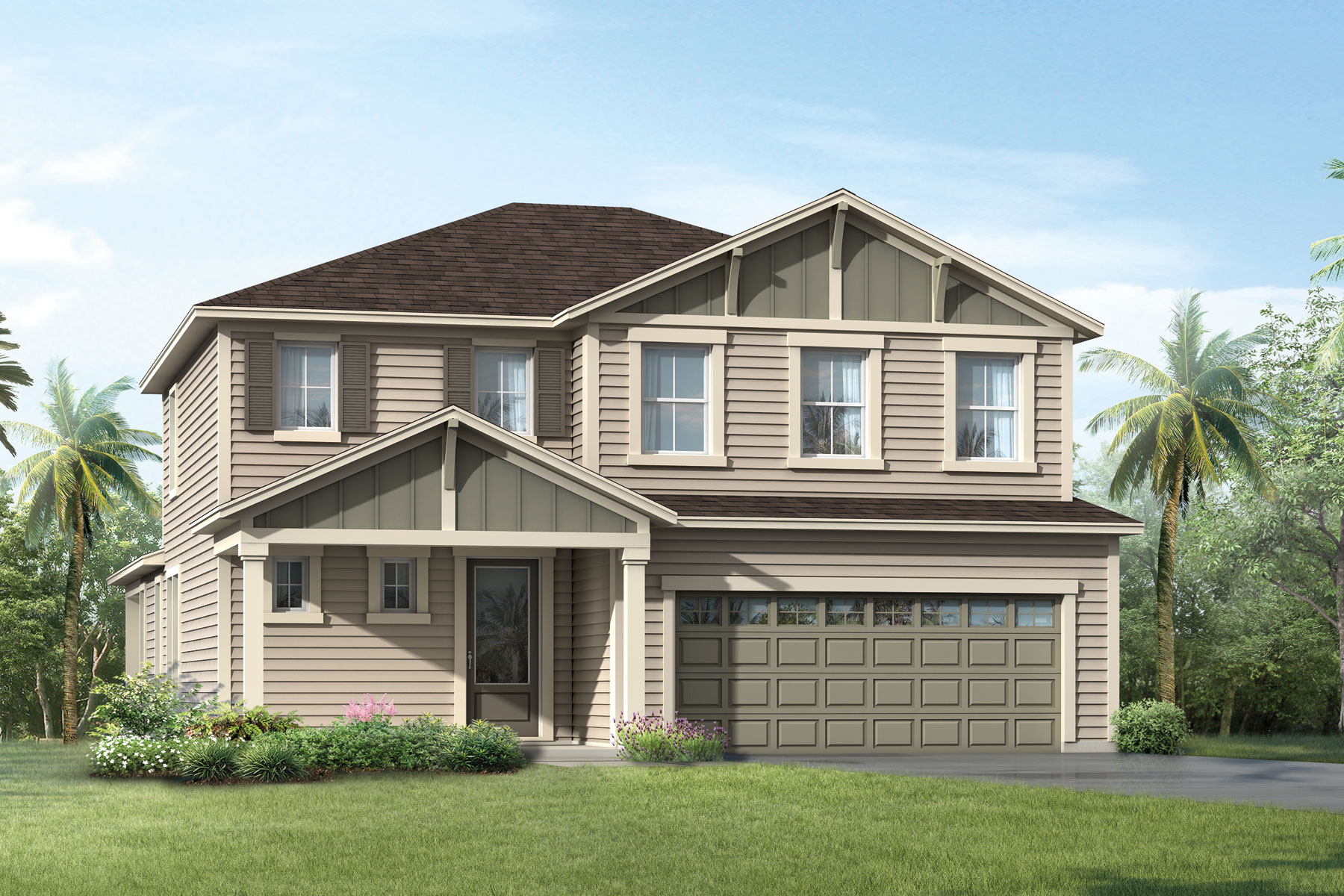 RiverTown - Arbors ElevationLowCountry_RiverTown_Sandhill_Main in St. Johns Florida by Mattamy Homes