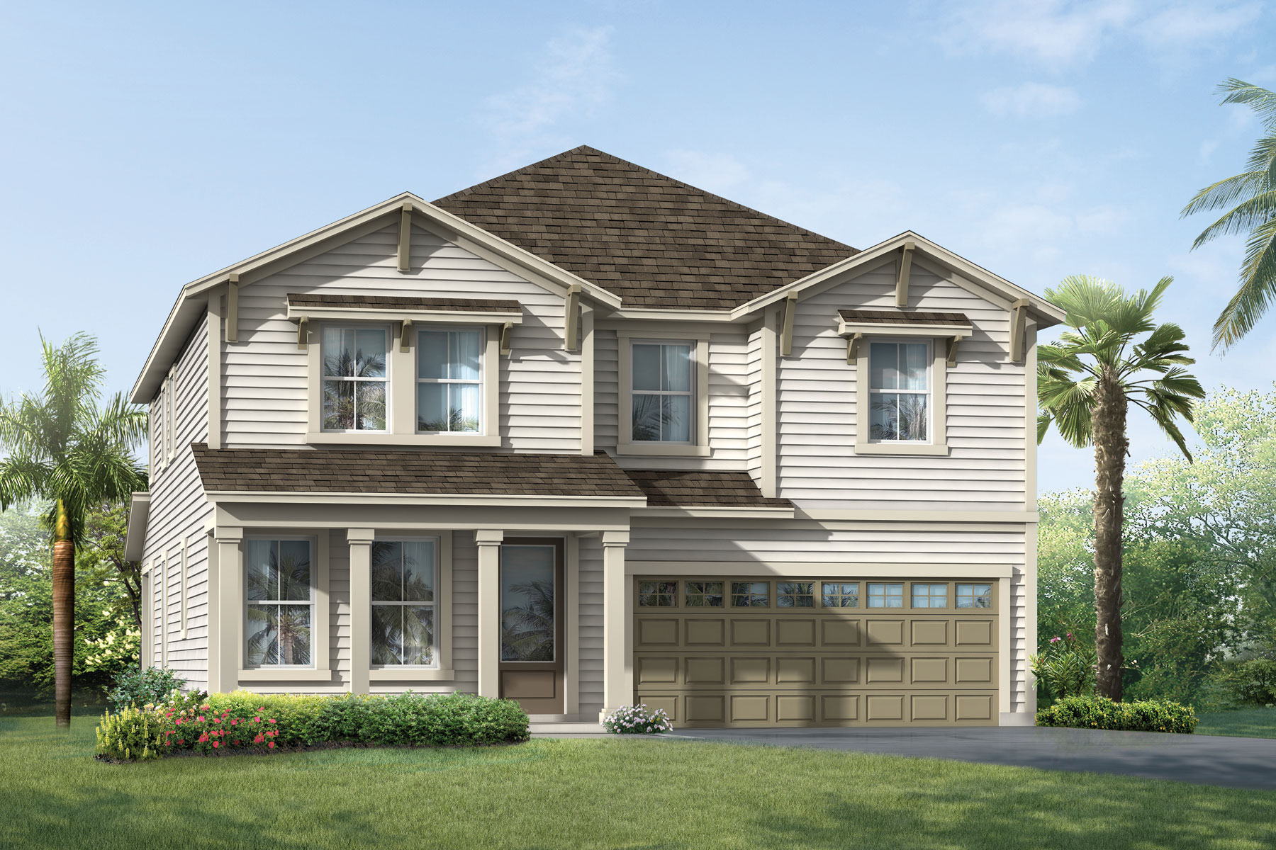 Vireo Plan ElevationLowCountry_RiverTown_Vireo at RiverTown - Arbors in St. Johns Florida by Mattamy Homes