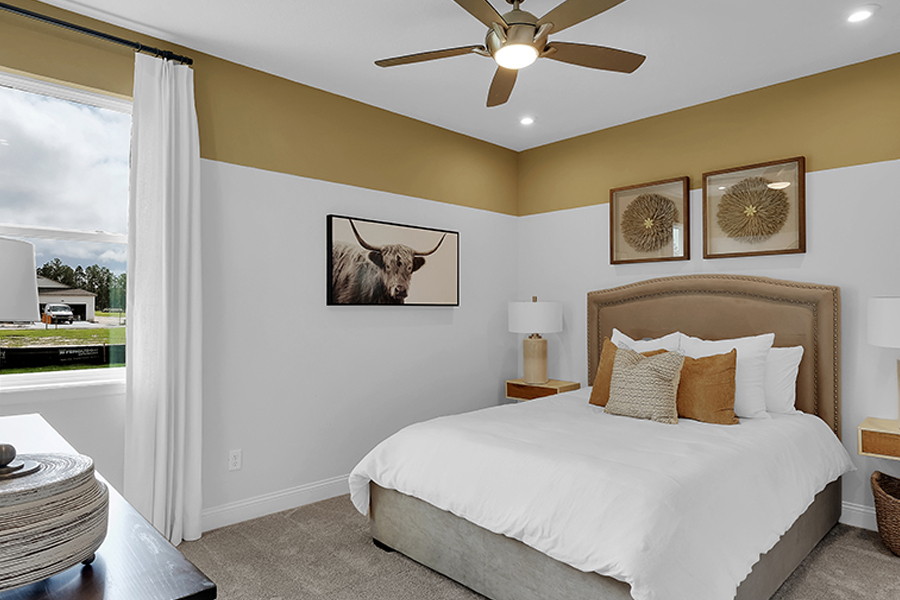 Forest Park at Wildlight Bedroom in Yulee Florida by Mattamy Homes