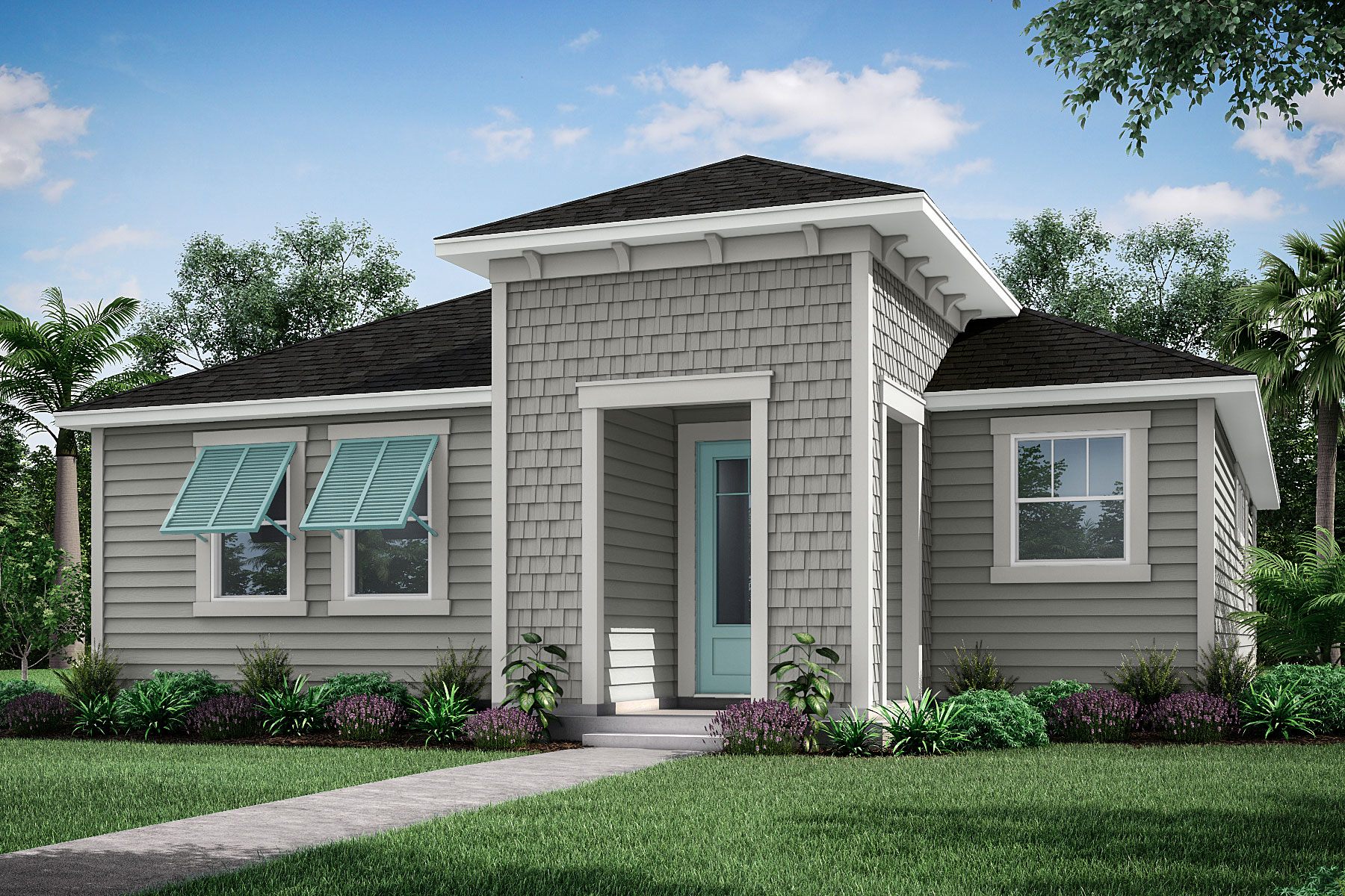 Forest Park at Wildlight Elevation Front in Yulee Florida by Mattamy Homes