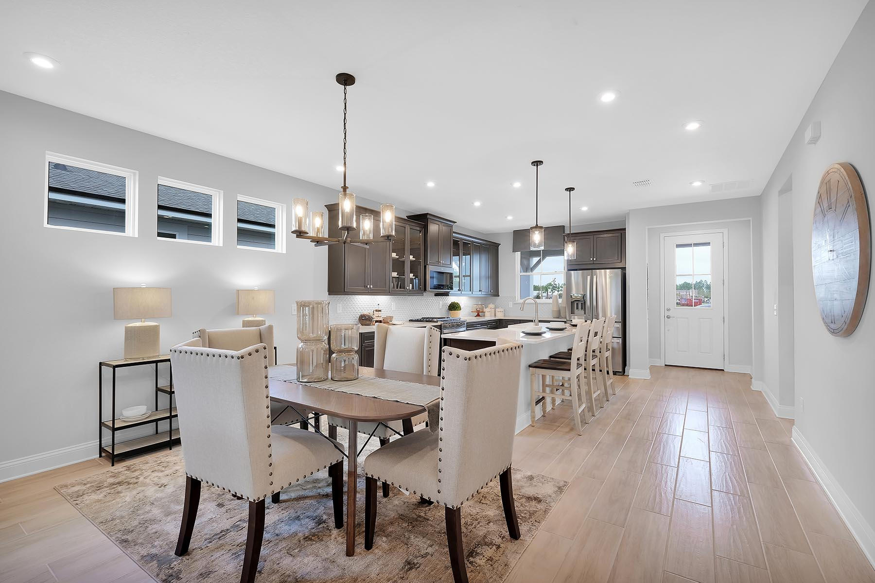 Bristol Plan Dining at Forest Park at Wildlight in Yulee Florida by Mattamy Homes