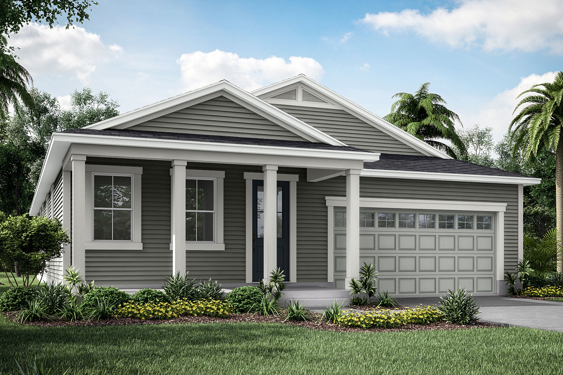 Elm Plan JAX_Wildlight_Elm_LowCountry at Forest Park at Wildlight in Yulee Florida by Mattamy Homes