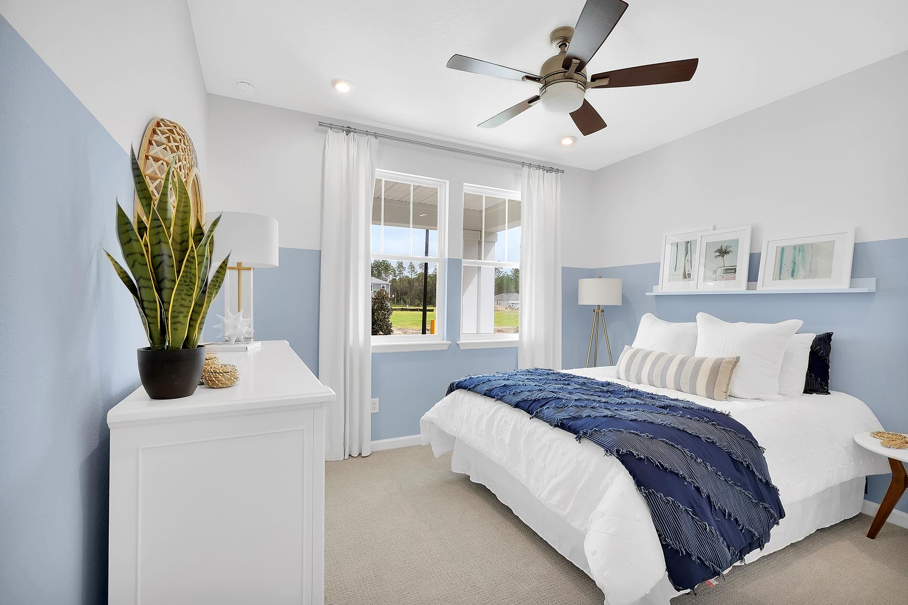 Elm Plan Bedroom at Forest Park at Wildlight in Yulee Florida by Mattamy Homes