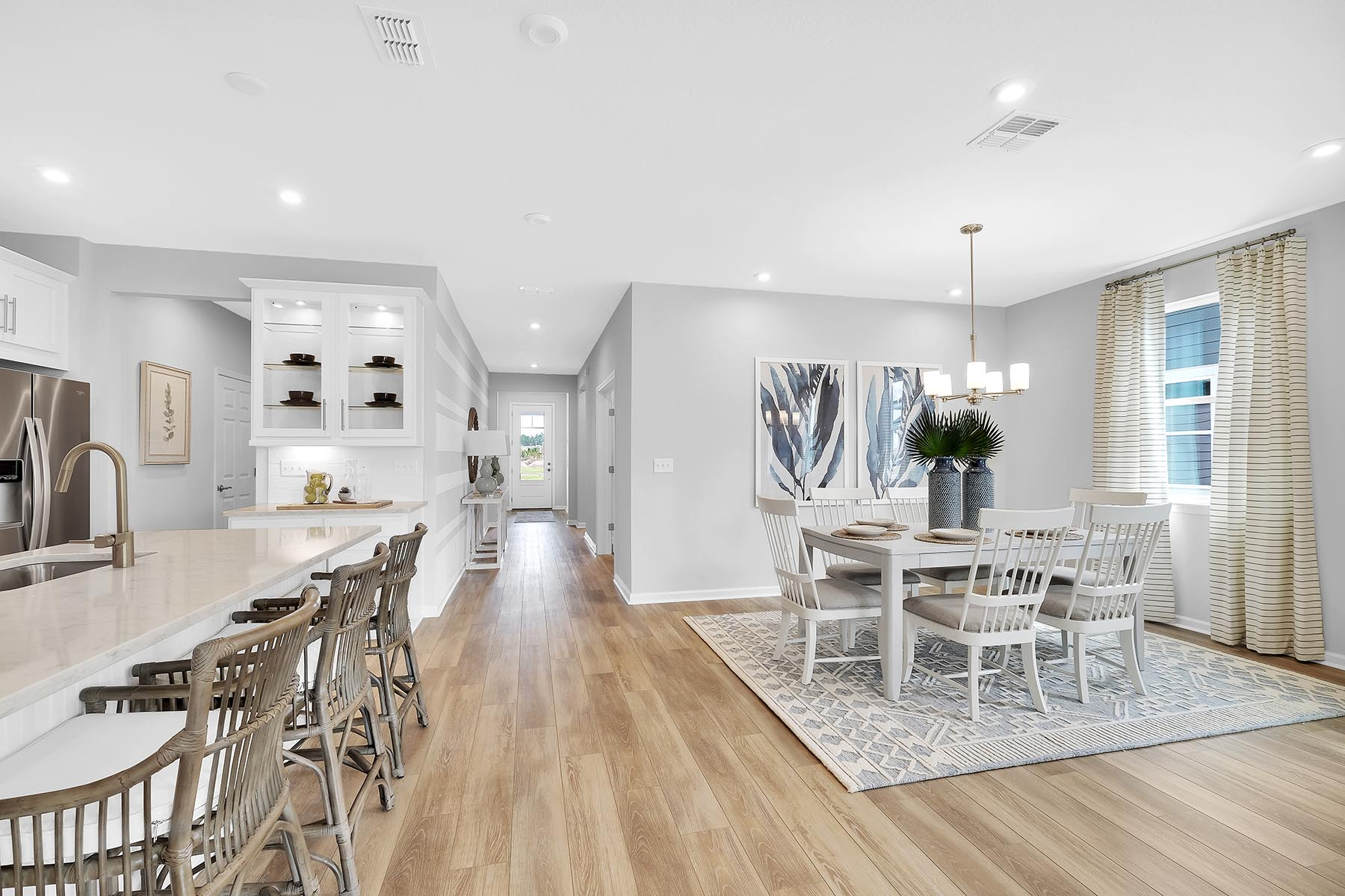 Elm Plan Dining at Forest Park at Wildlight in Yulee Florida by Mattamy Homes
