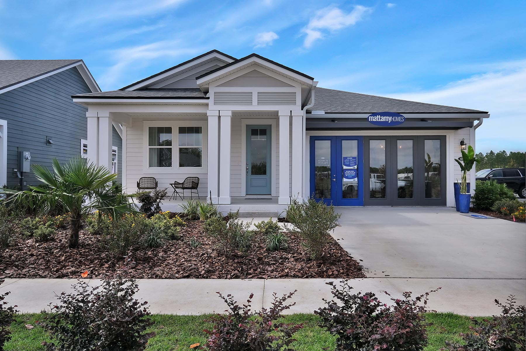 Elm Plan Elevation Front at Forest Park at Wildlight in Yulee Florida by Mattamy Homes