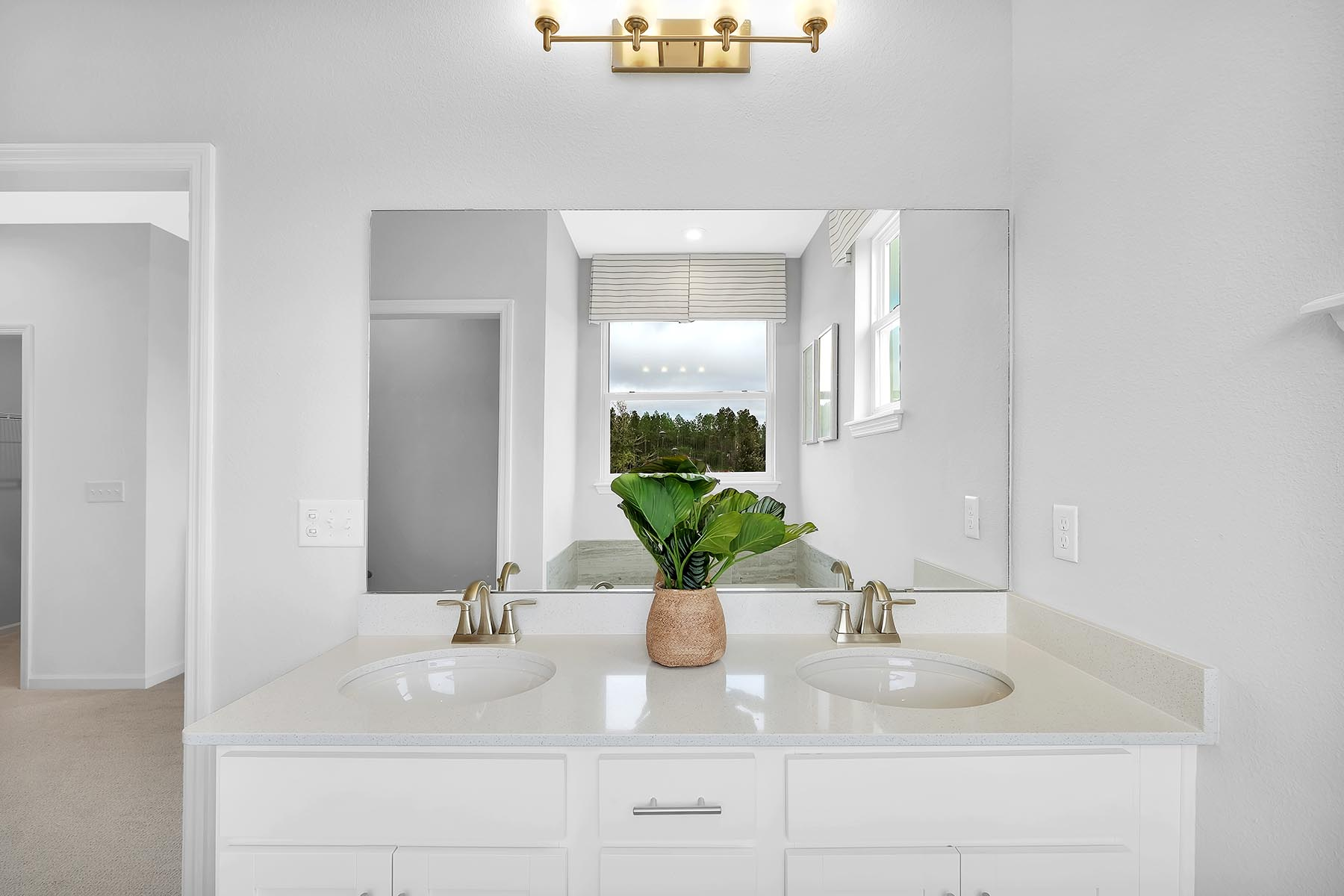 Elm Plan Bath at Forest Park at Wildlight in Yulee Florida by Mattamy Homes