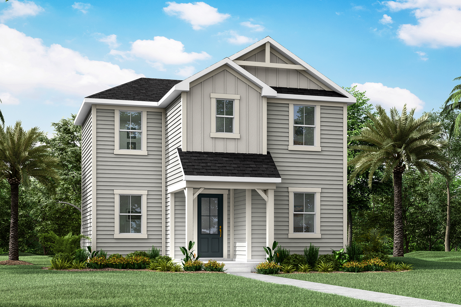 Lacey Plan JAX_Wildlight_Lacey_Farmhouse at Forest Park at Wildlight in Yulee Florida by Mattamy Homes