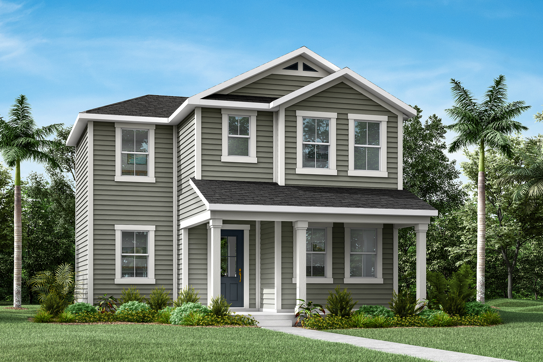Lacey Plan JAX_Wildlight_Lacey_LowCountry at Forest Park at Wildlight in Yulee Florida by Mattamy Homes