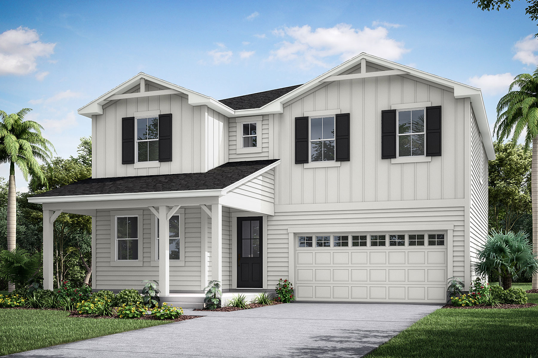 Linden Plan JAX_Wildlight_Linden_Farmhouse at Forest Park at Wildlight in Yulee Florida by Mattamy Homes