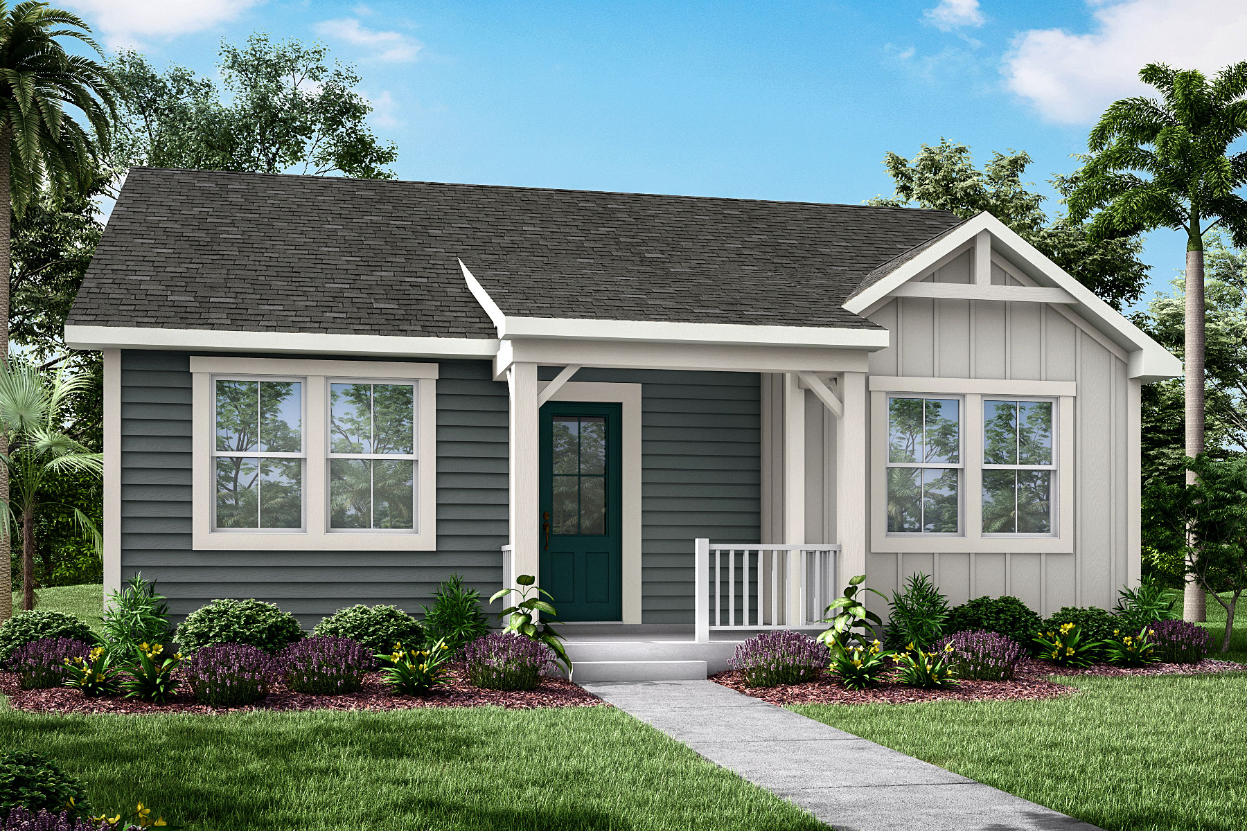Newport Plan JAX_Wildlight_Newport_Farmhouse at Forest Park at Wildlight in Yulee Florida by Mattamy Homes