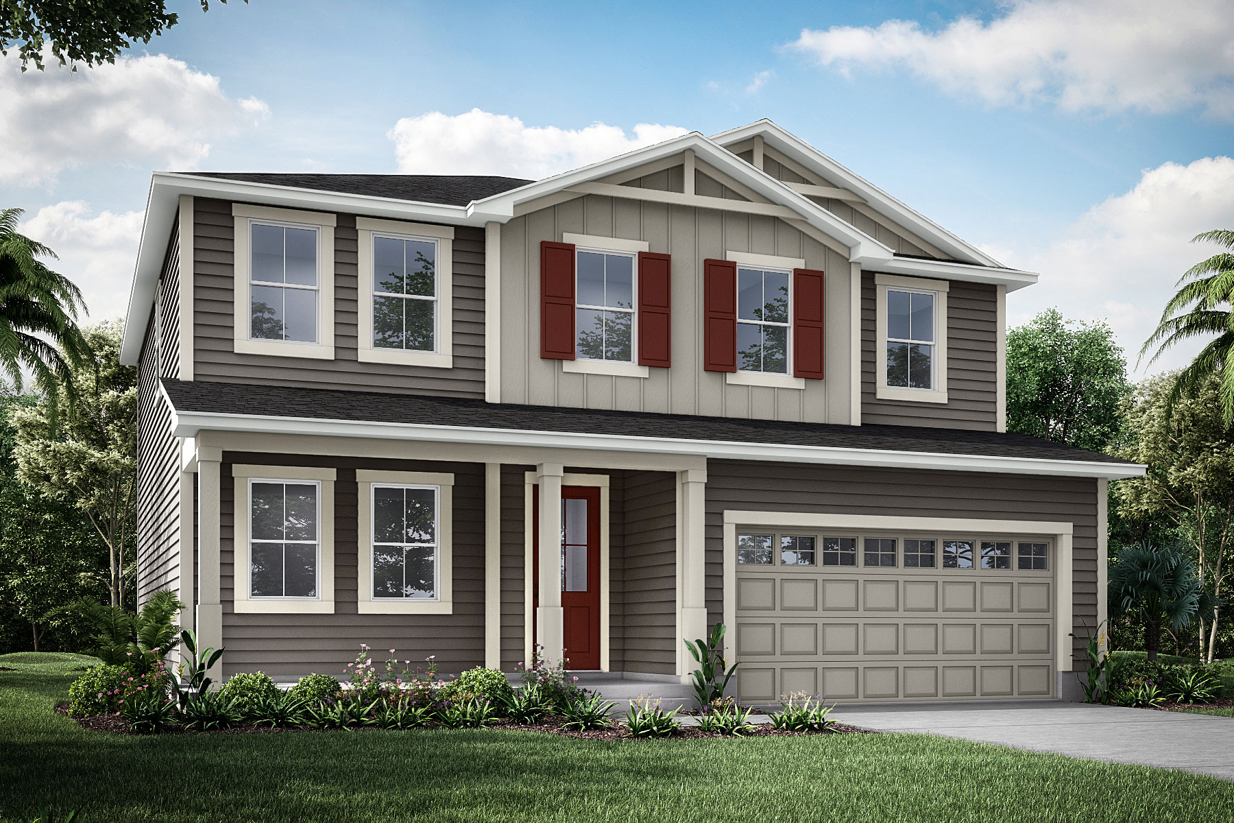Willow Plan JAX_Wildlight_Willow_Farmhouse at Forest Park at Wildlight in Yulee Florida by Mattamy Homes