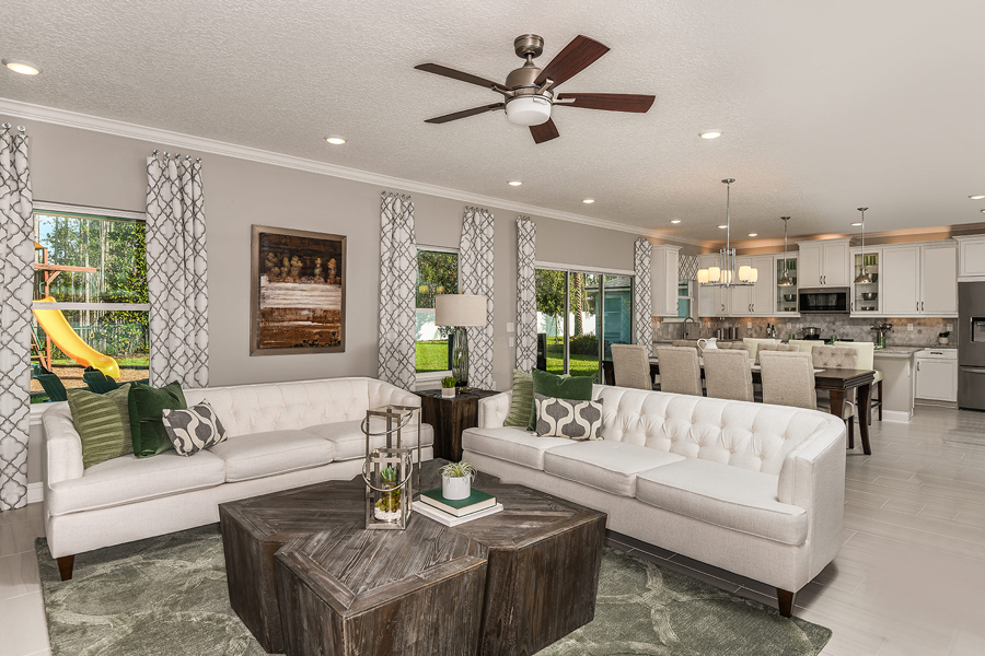 RiverTown - Gardens Greatroom in St. Johns Florida by Mattamy Homes