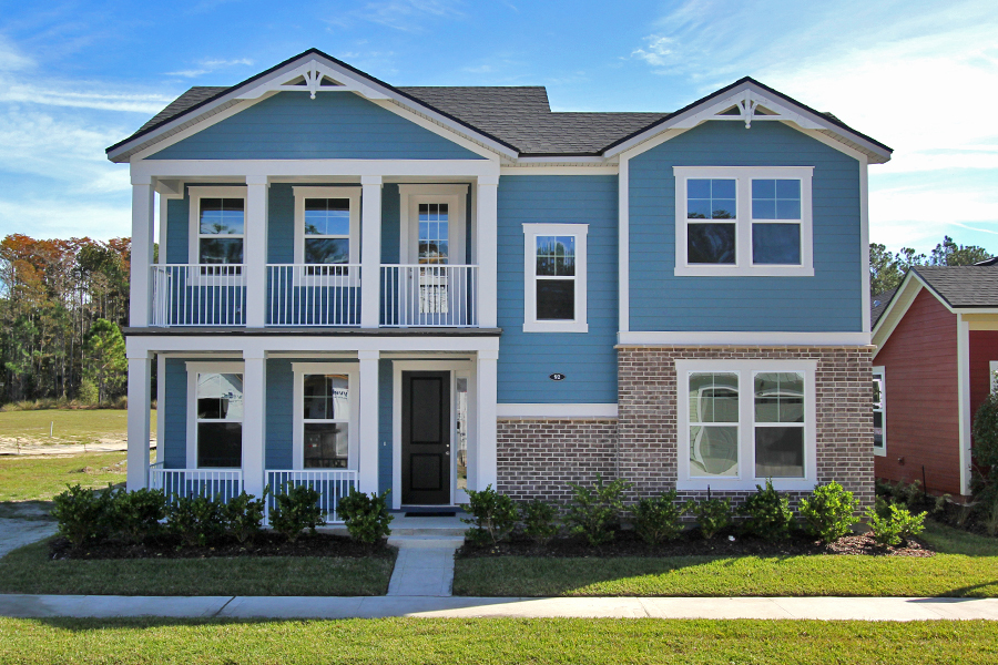 RiverTown - Gardens Elevation Front in St. Johns Florida by Mattamy Homes