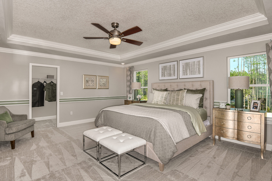 RiverTown - Gardens Bedroom in St. Johns Florida by Mattamy Homes