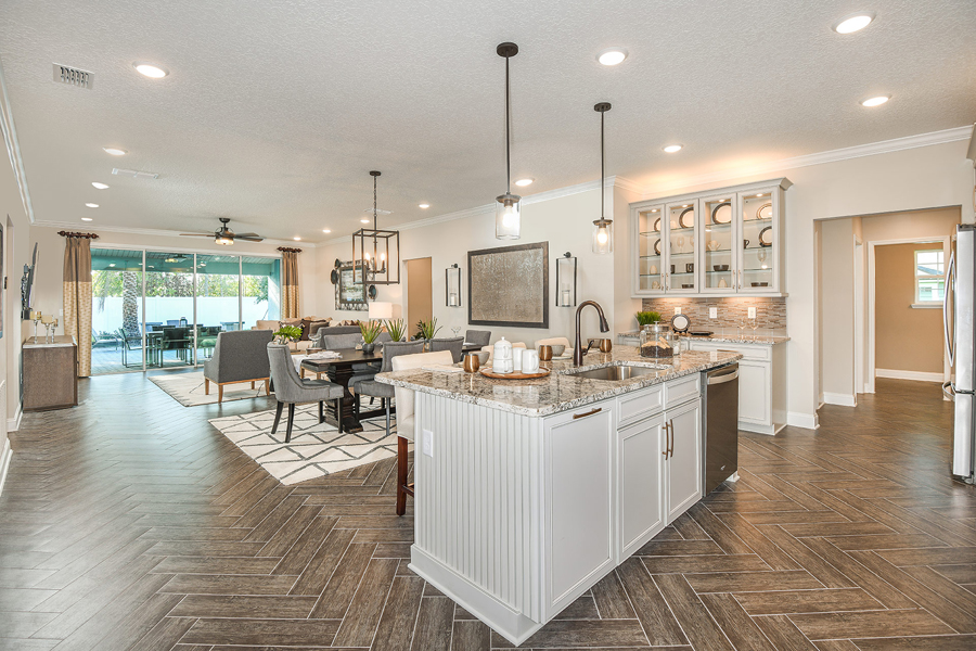 RiverTown - Haven Kitchen in St. Johns Florida by Mattamy Homes