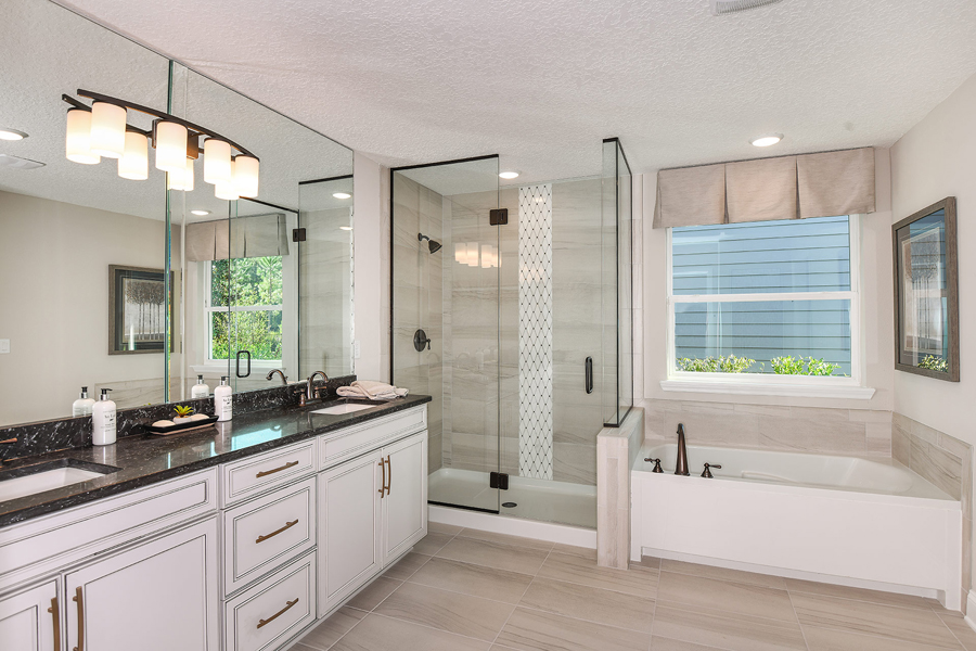 RiverTown - Haven Bathroom_Master Bath in St. Johns Florida by Mattamy Homes