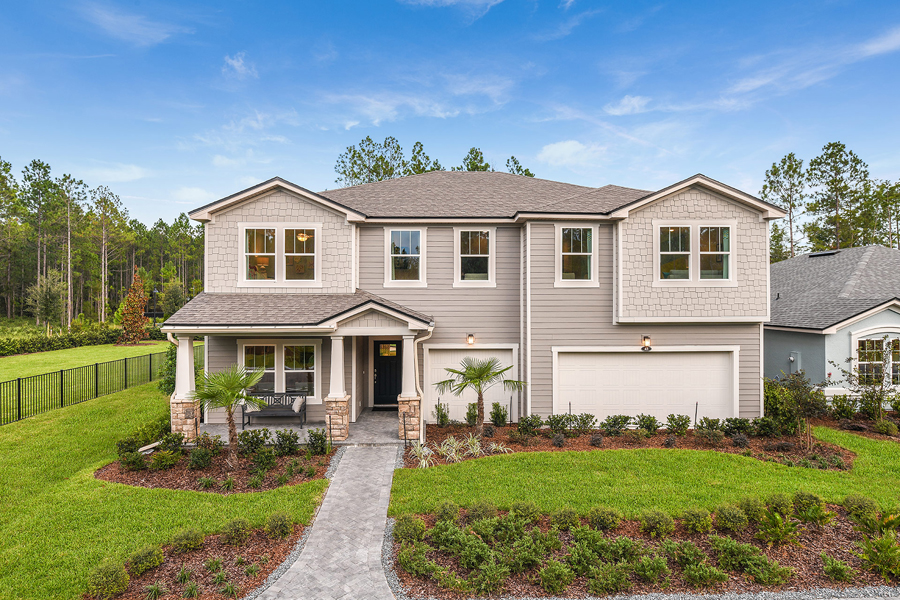 RiverTown - Haven Elevation Front in St. Johns Florida by Mattamy Homes