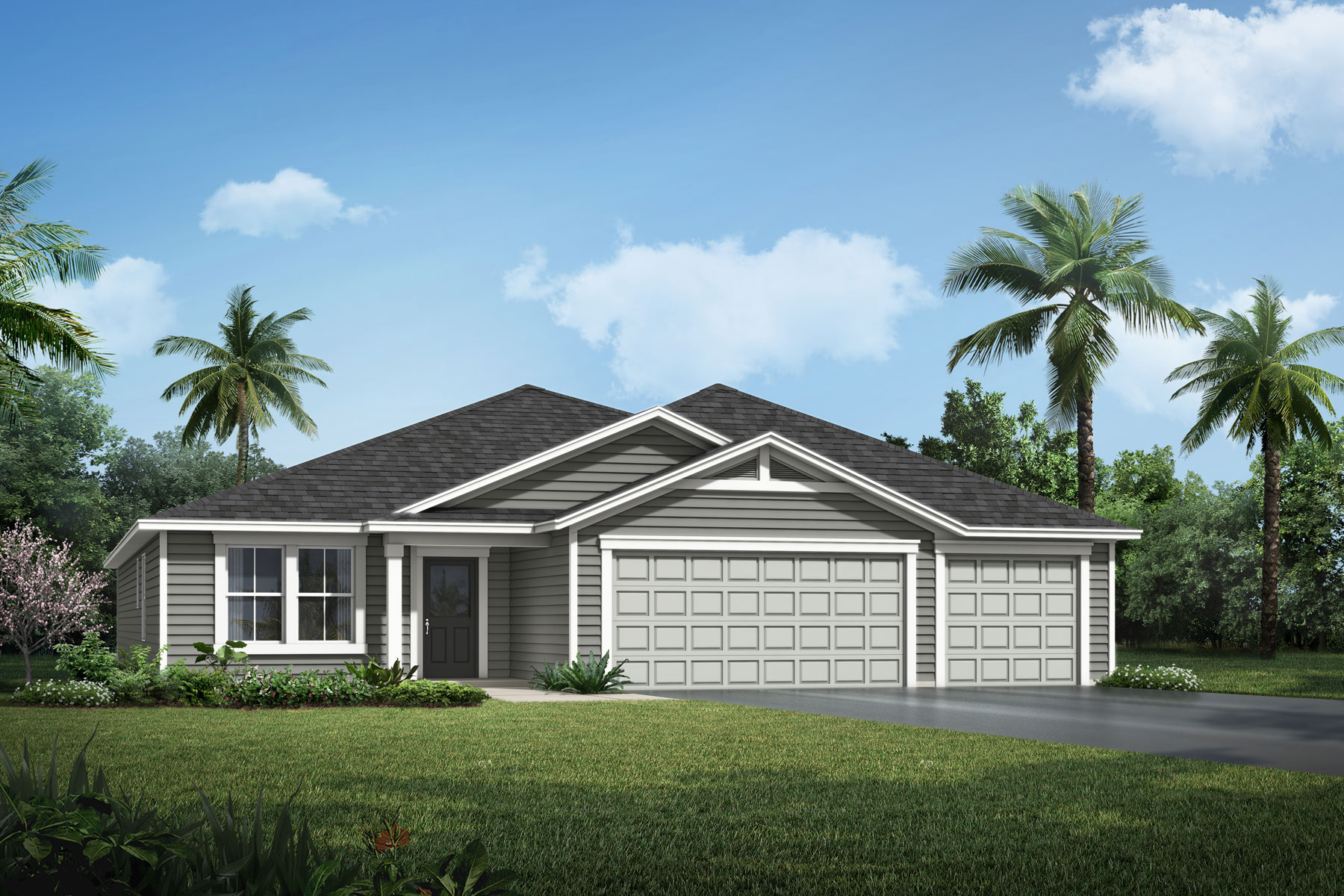 Braden Plan Elevation Front at RiverTown - Haven in St. Johns Florida by Mattamy Homes
