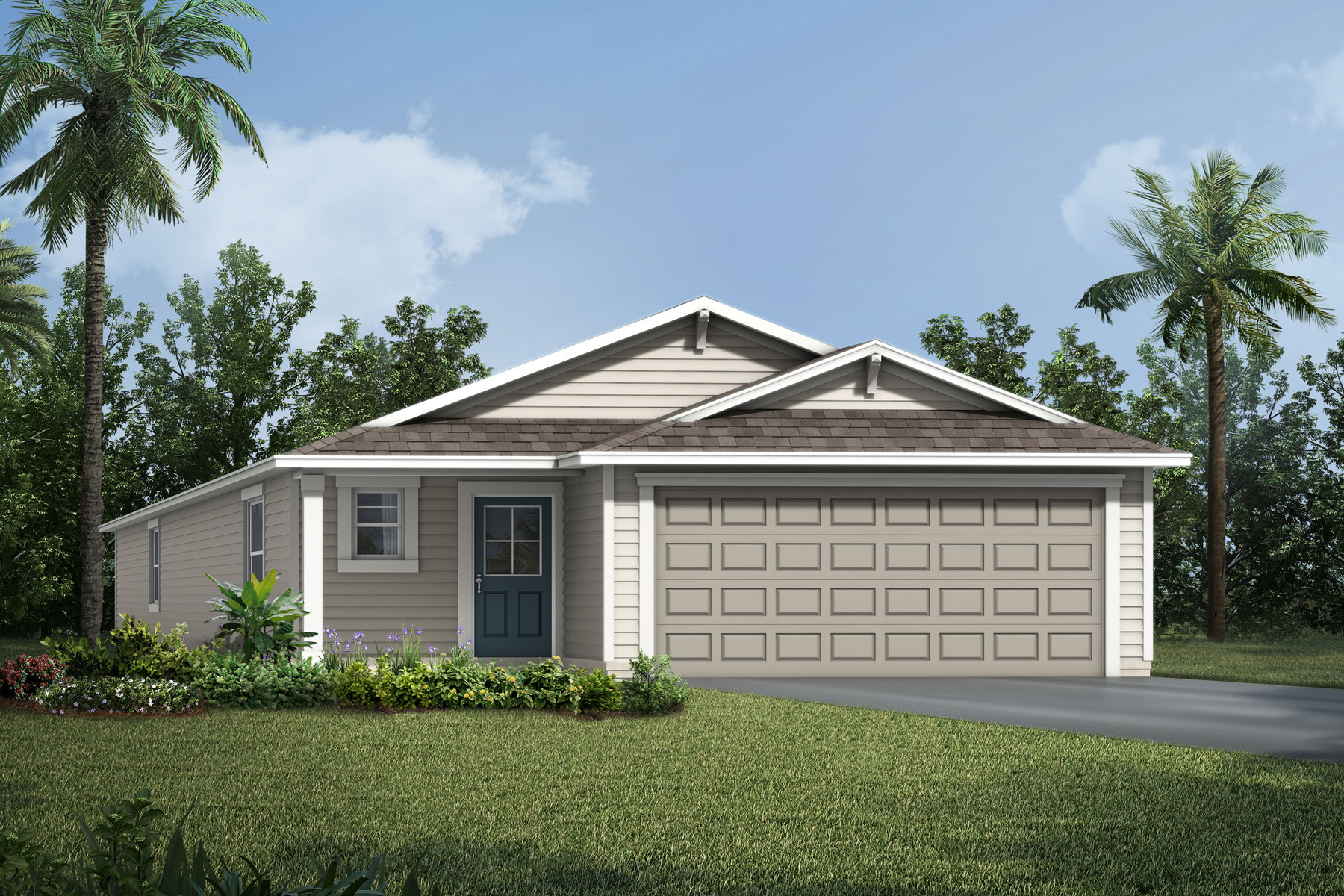 Carrabelle Plan Elevation Front at RiverTown - Haven in St. Johns Florida by Mattamy Homes