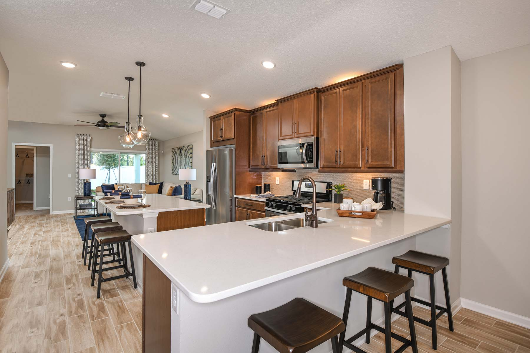 Carrabelle Plan Kitchen at RiverTown - Haven in St. Johns Florida by Mattamy Homes