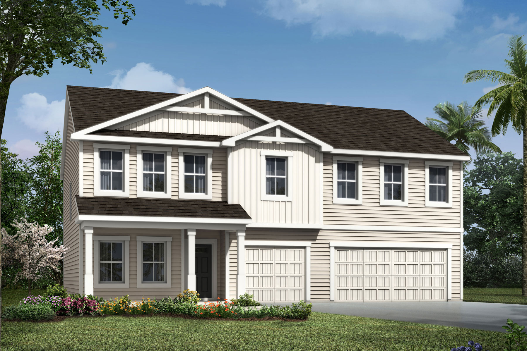 Chatam Plan jax_chatam_farmhouse at RiverTown - Haven in St. Johns Florida by Mattamy Homes